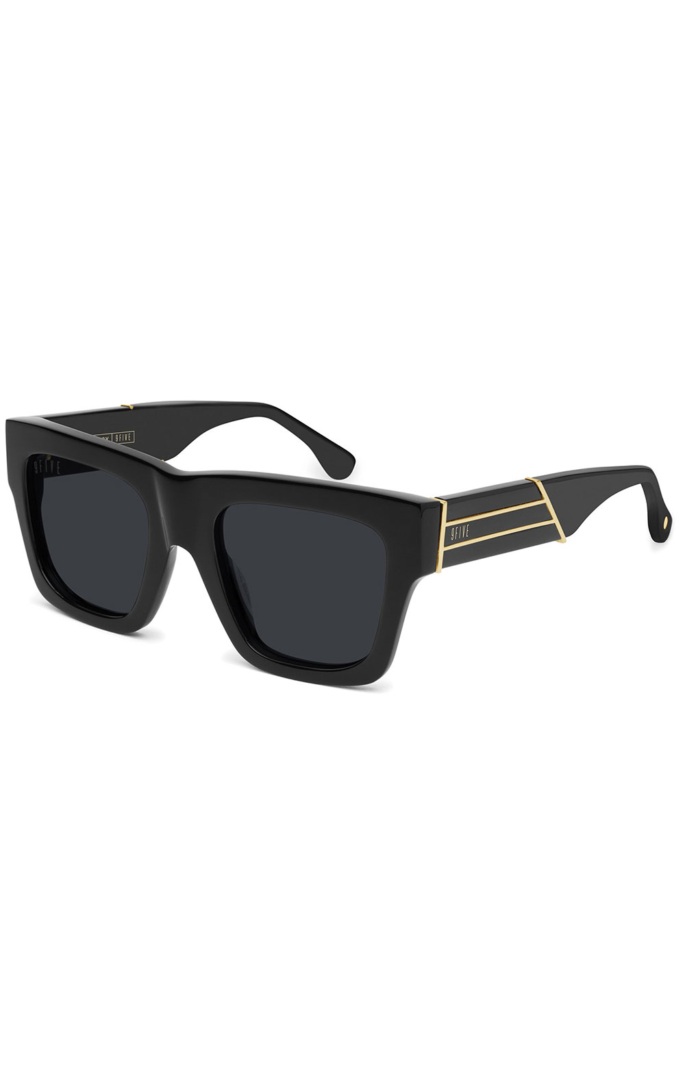 Lucy Sunglasses - Black/Gold