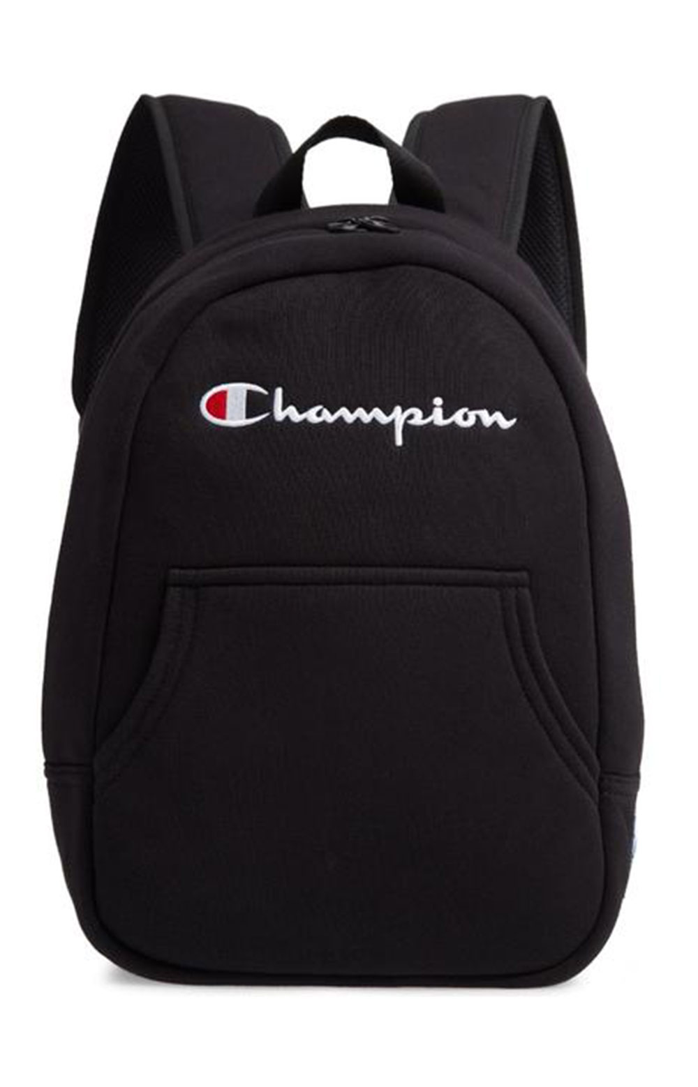 (Ch1067) Champion Reverse Weave Pullover Backpack - Black