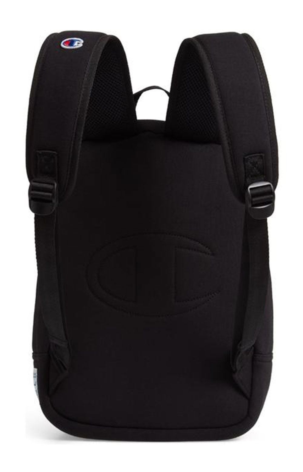 (Ch1095) Champion Reverse Weave Pullover Backpack - Black  2