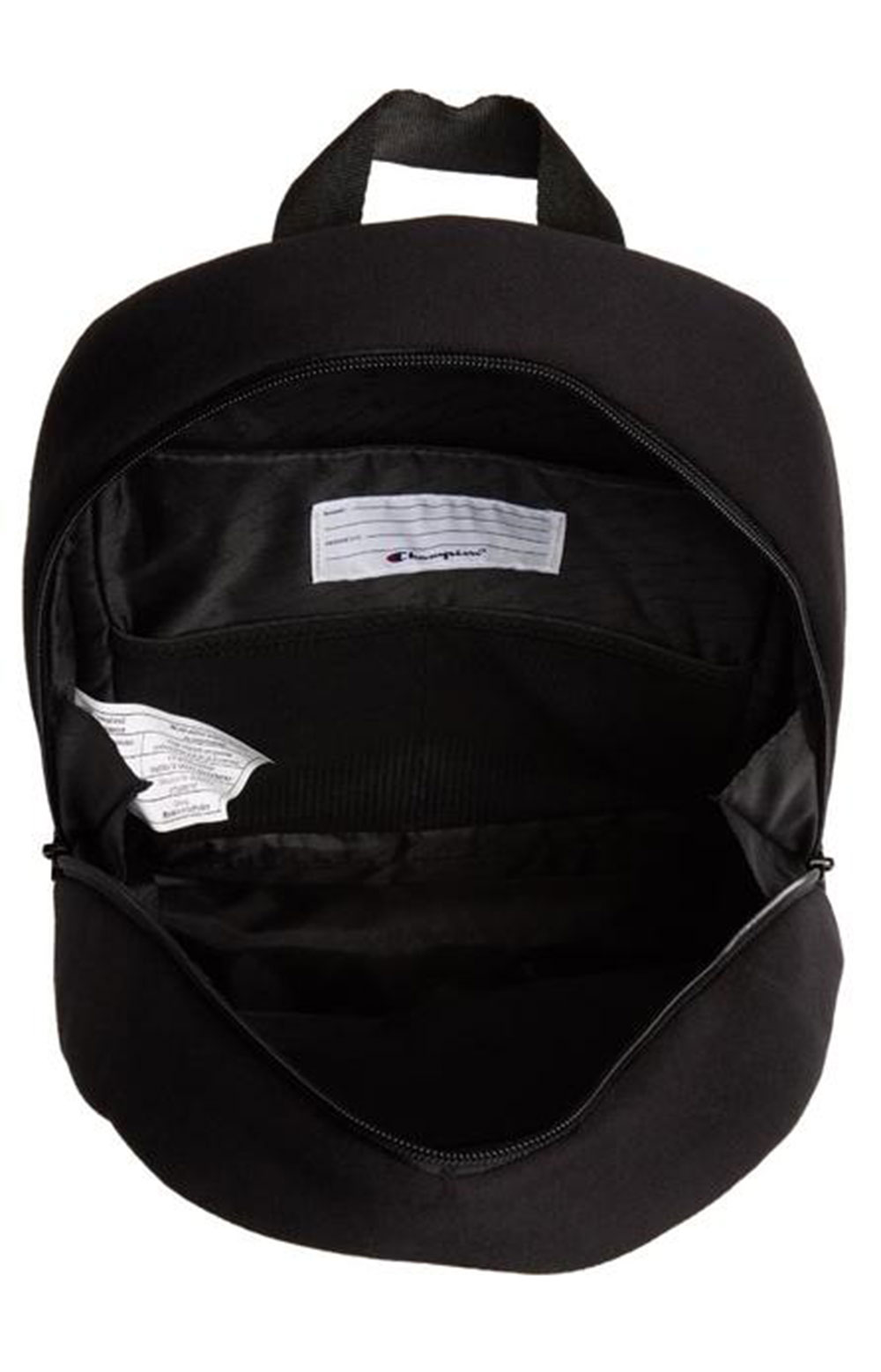 (Ch1095) Champion Reverse Weave Pullover Backpack - Black  3