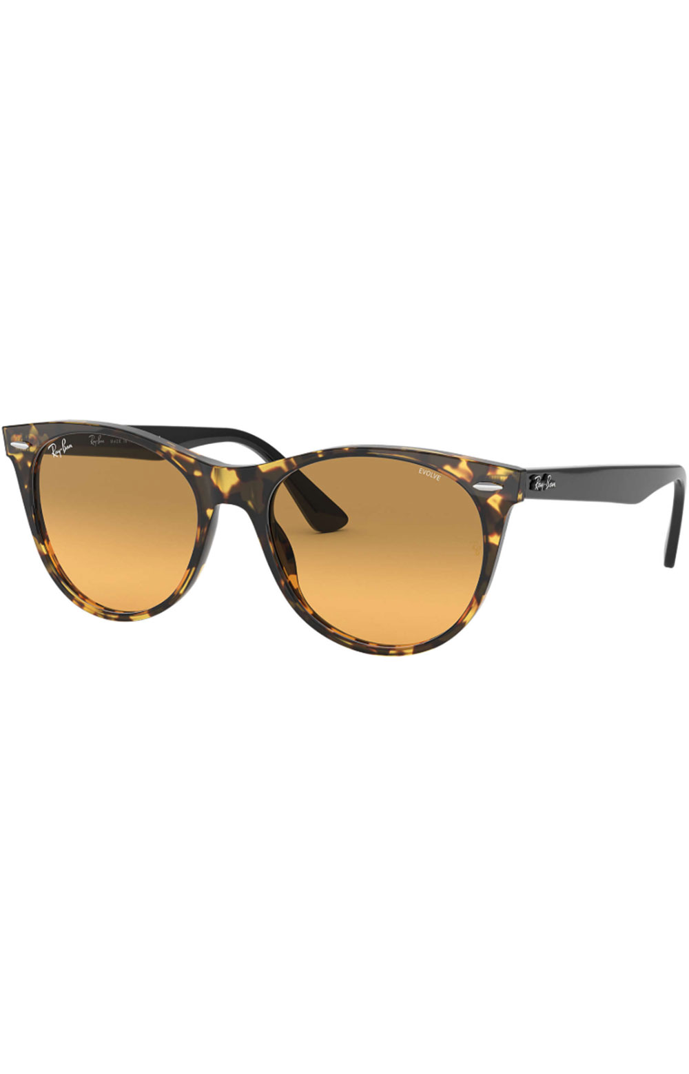 (1248AC52) Wayfarer II Sunglasses - Yellow Havana/Photo Orange