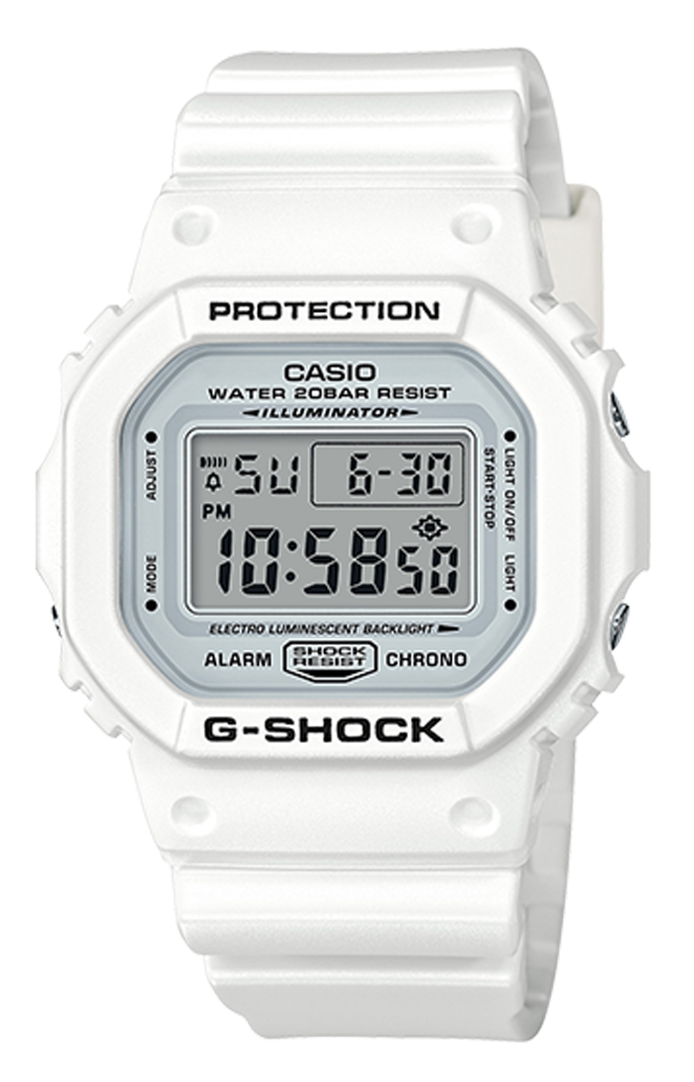 DW5600MW-7 Watch - White