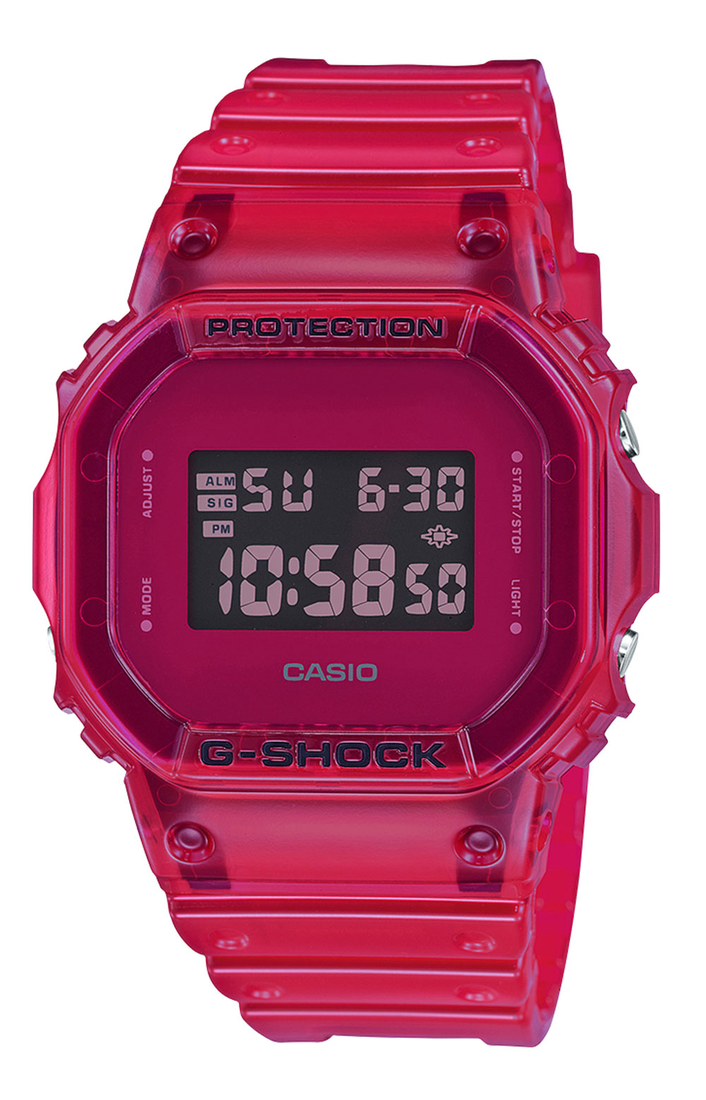 DW5600SB-4 Watch - Red