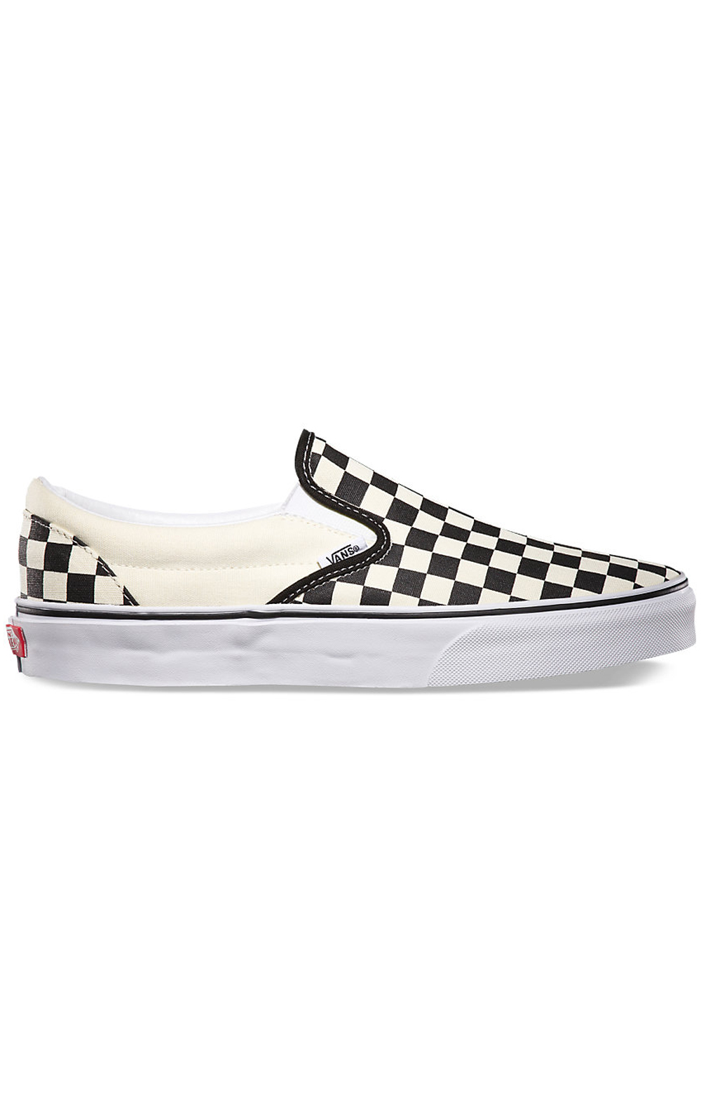 (EYEBWW) Checkerboard Slip-On Shoe - Black/Off White