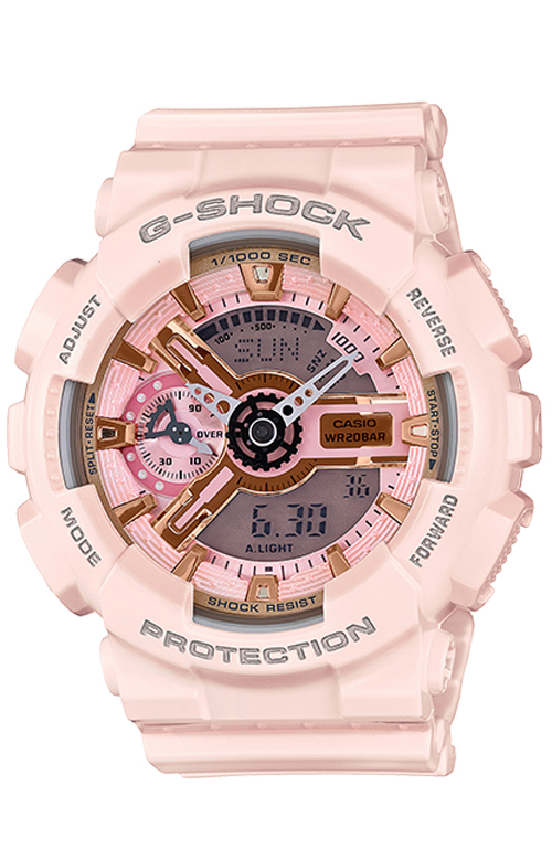 GMA-S110MP-4A1 S Series Watch - Pink