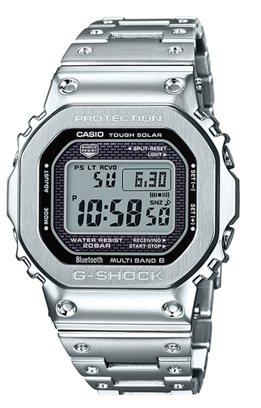 GMWB5000D-1 Watch - Silver