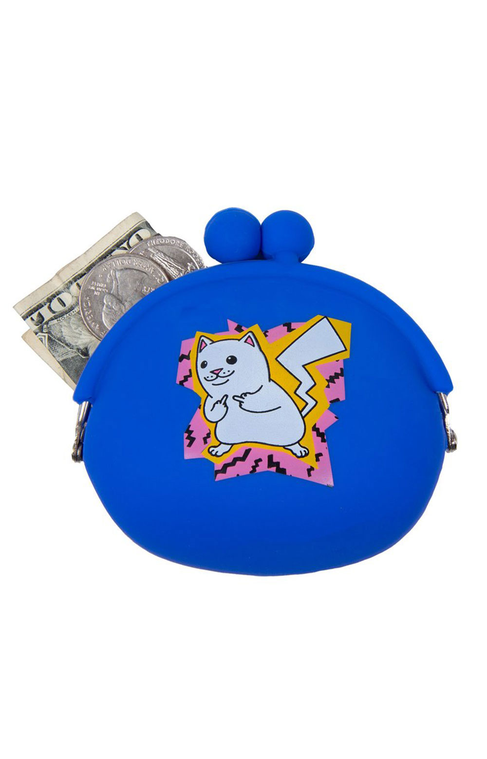 Catch Em All Rubber Coin Pouch  3