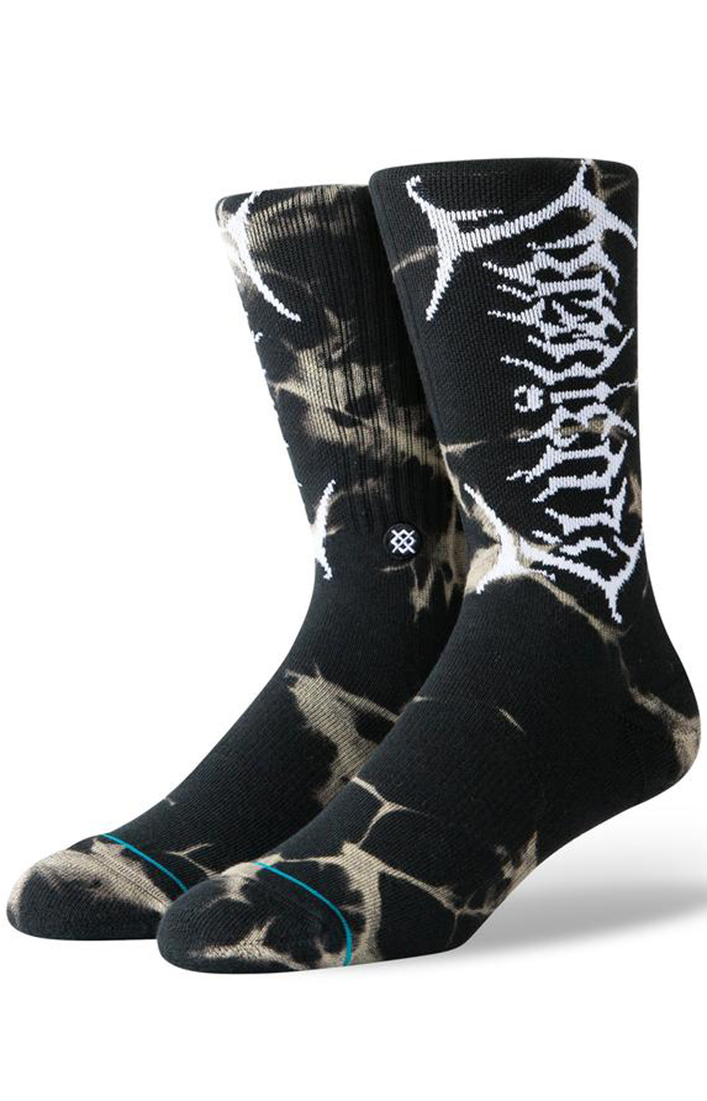 Uzi Dye Socks - Black