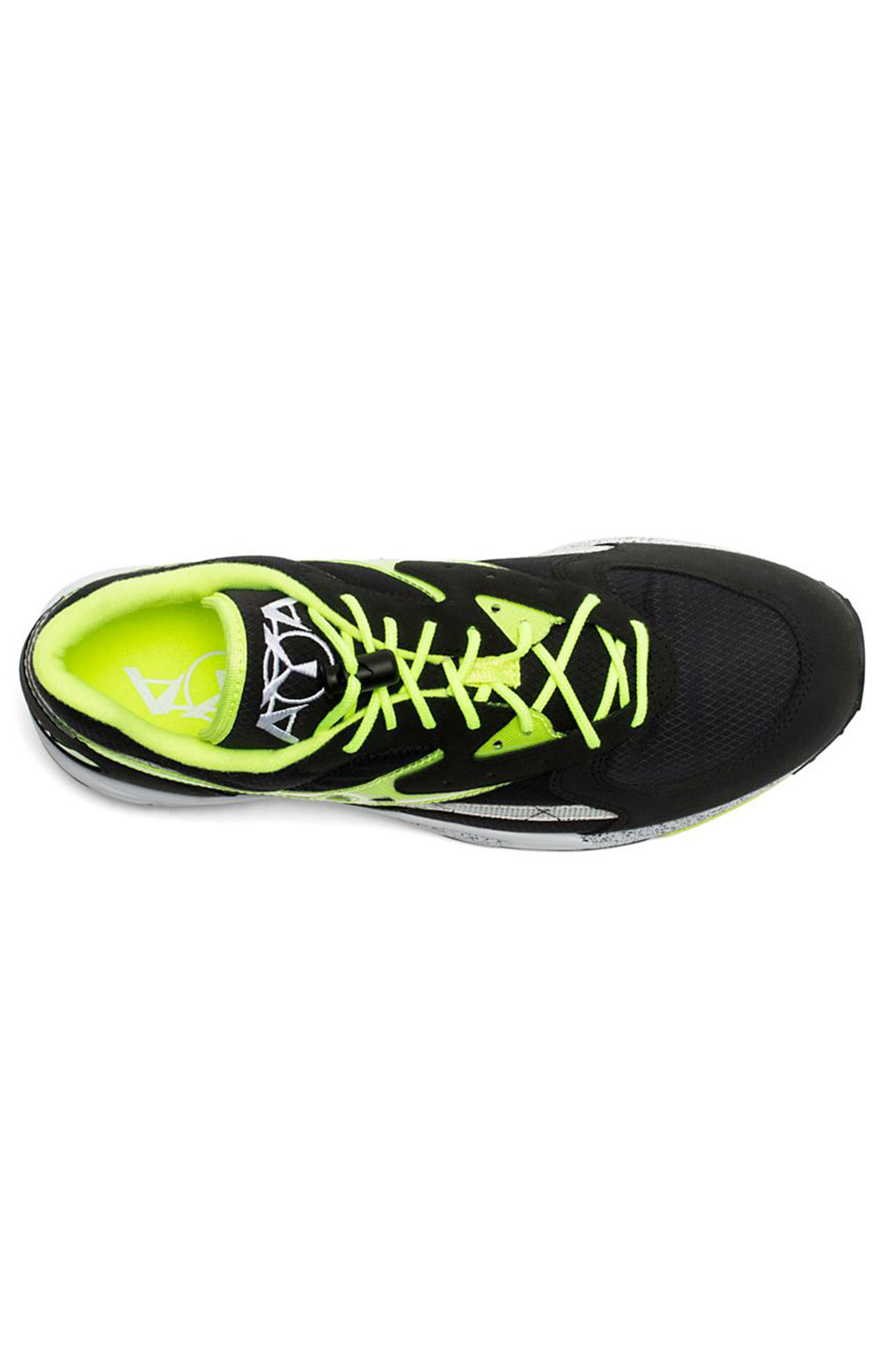 (S70460-3) Aya Shoe - Black/Neon 3