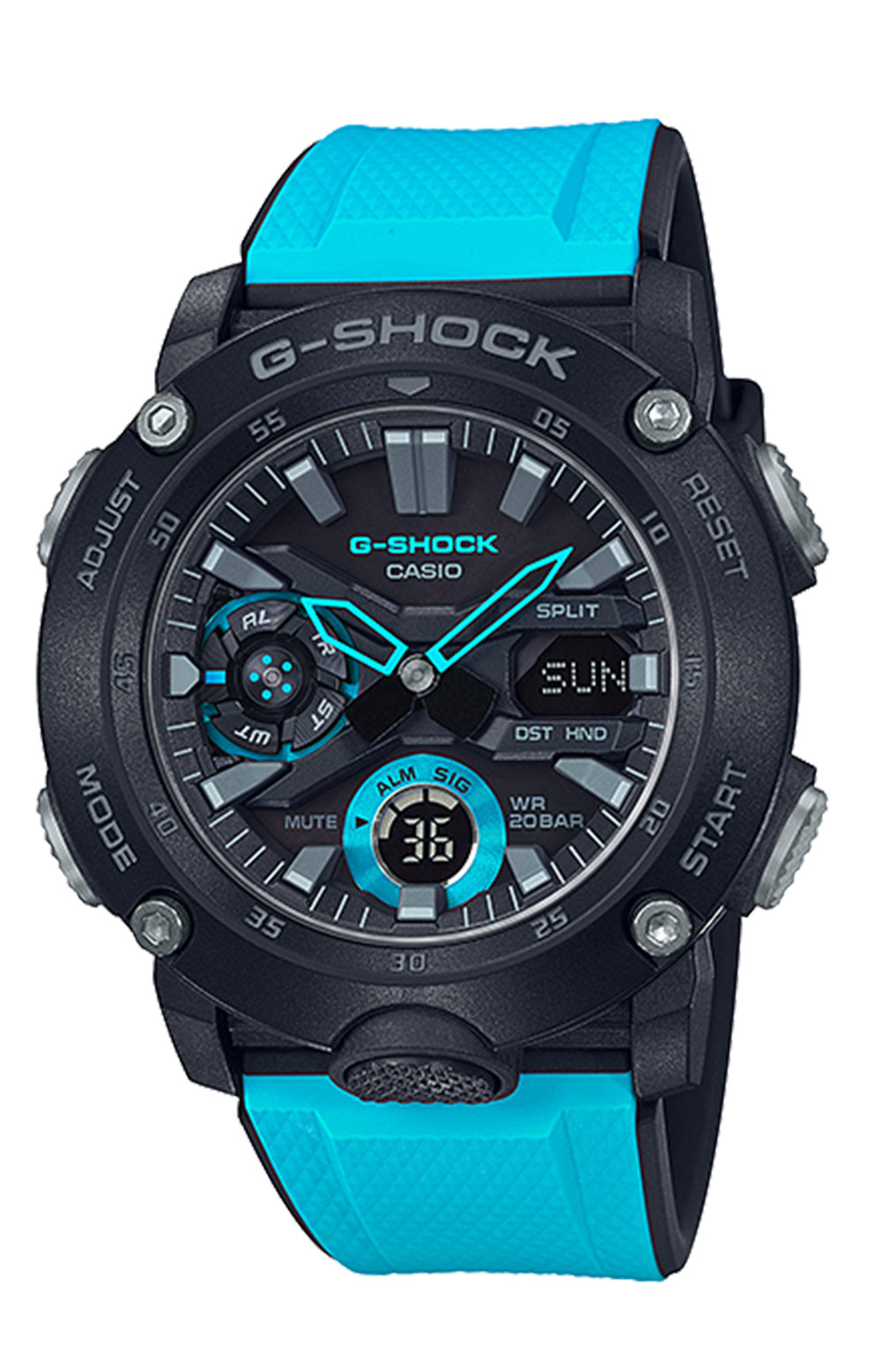 GA2000-1A2 Watch - Blue