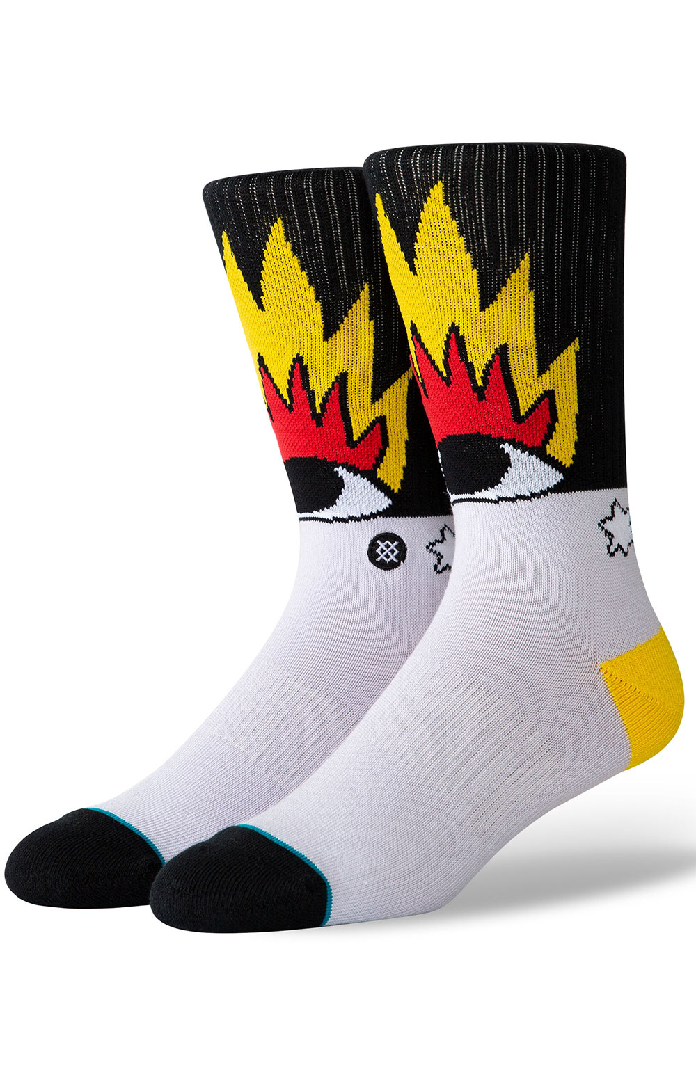 Fire And Eyes Socks