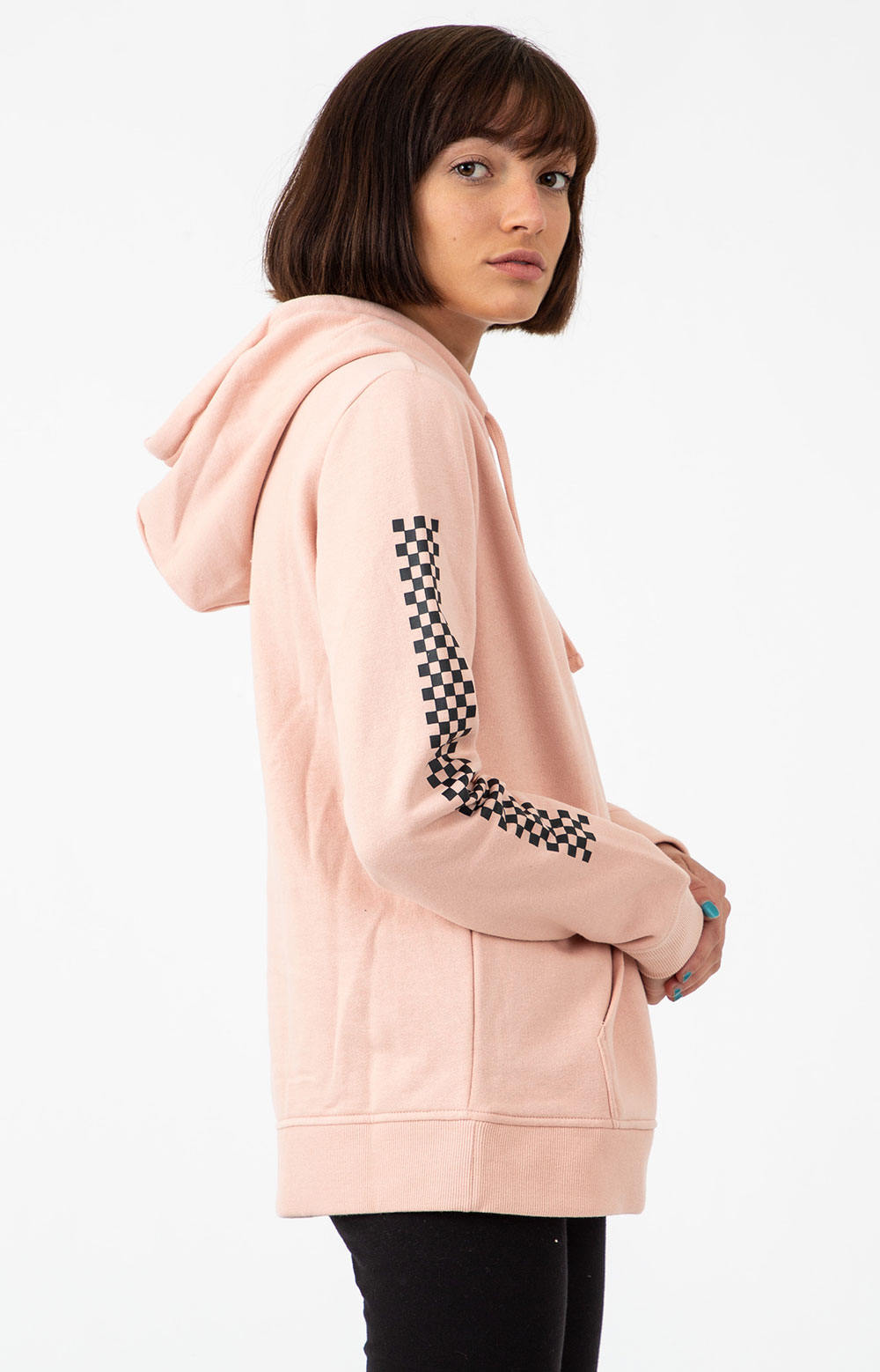 Funday Pullover Hoodie - Rose Cloud  2