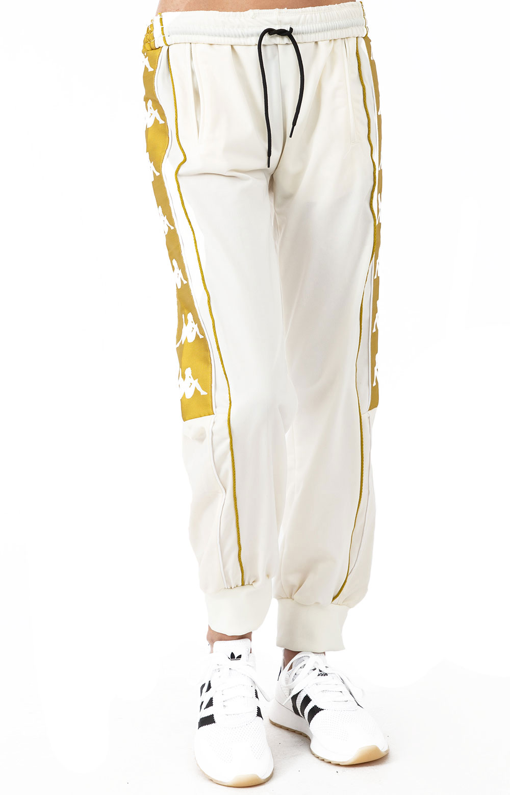 222 Banda 10 Arsis Track Pants - White/Yellow