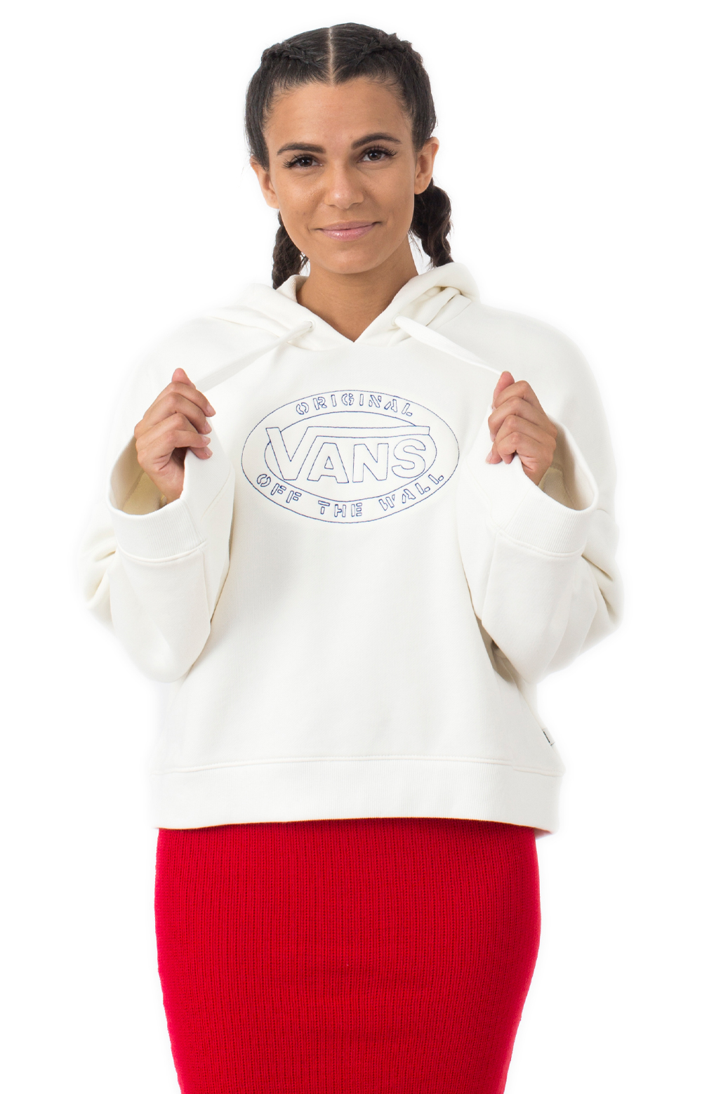 Junction Pullover Hoodie - White