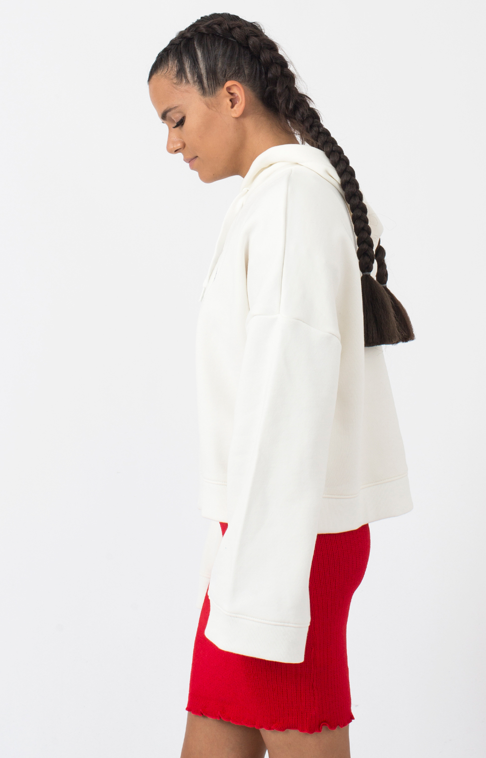Junction Pullover Hoodie - White 2