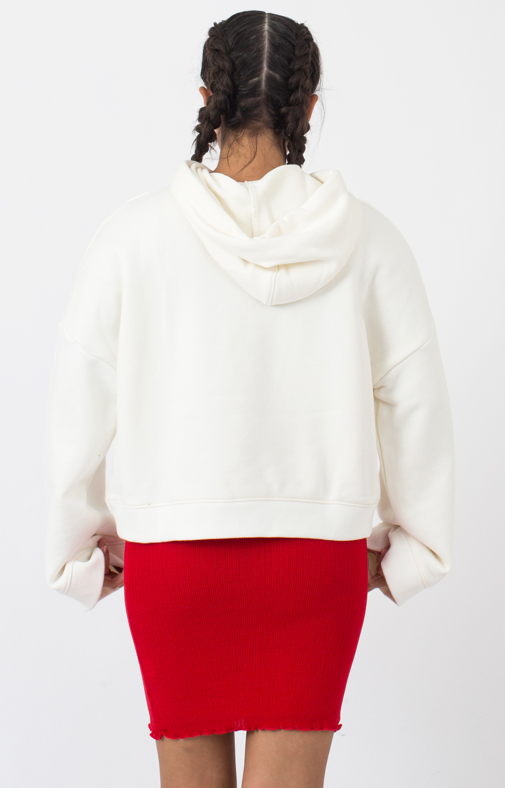 Junction Pullover Hoodie - White 3