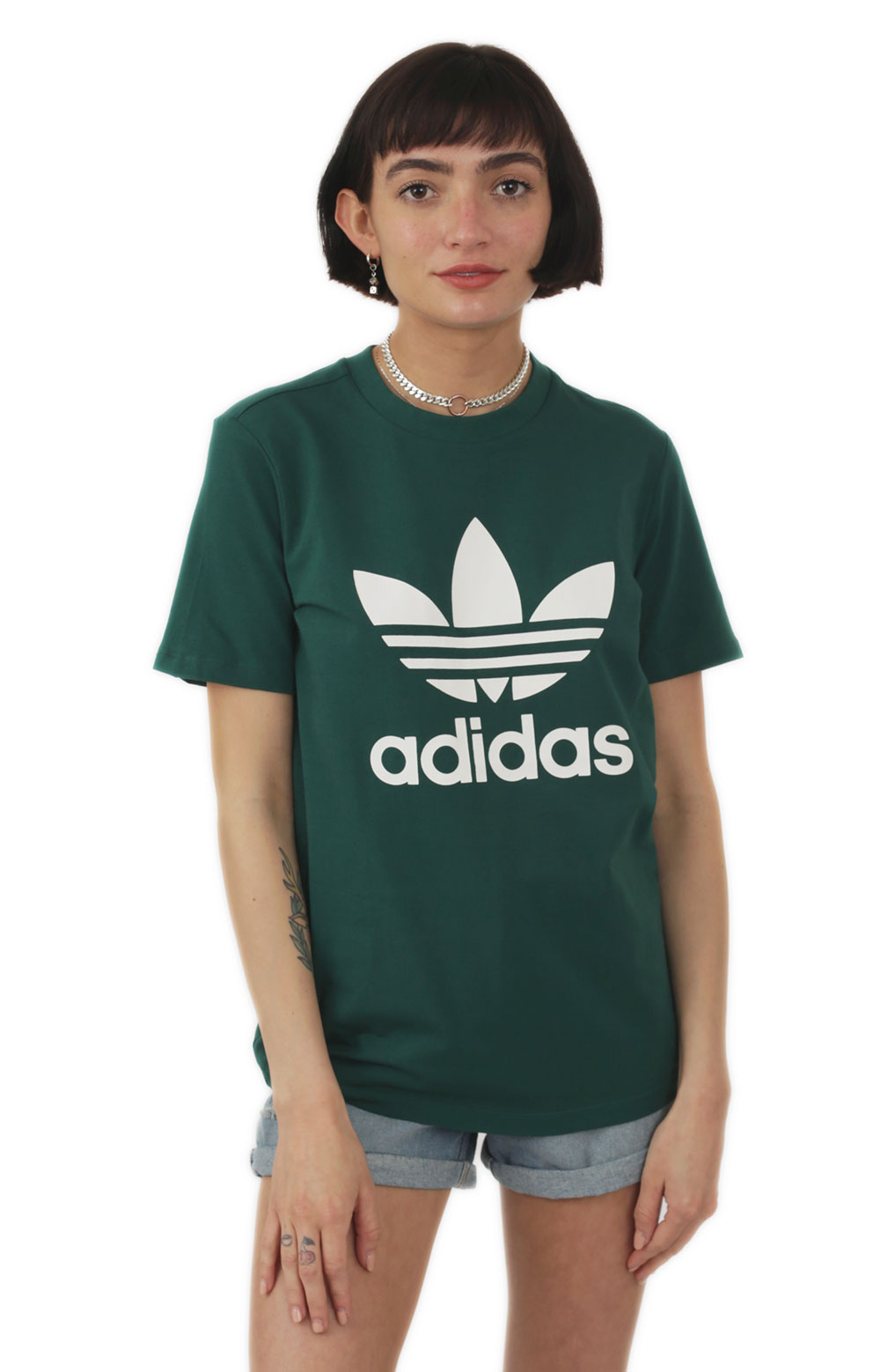 Trefoil T-Shirt - Collegiate Green