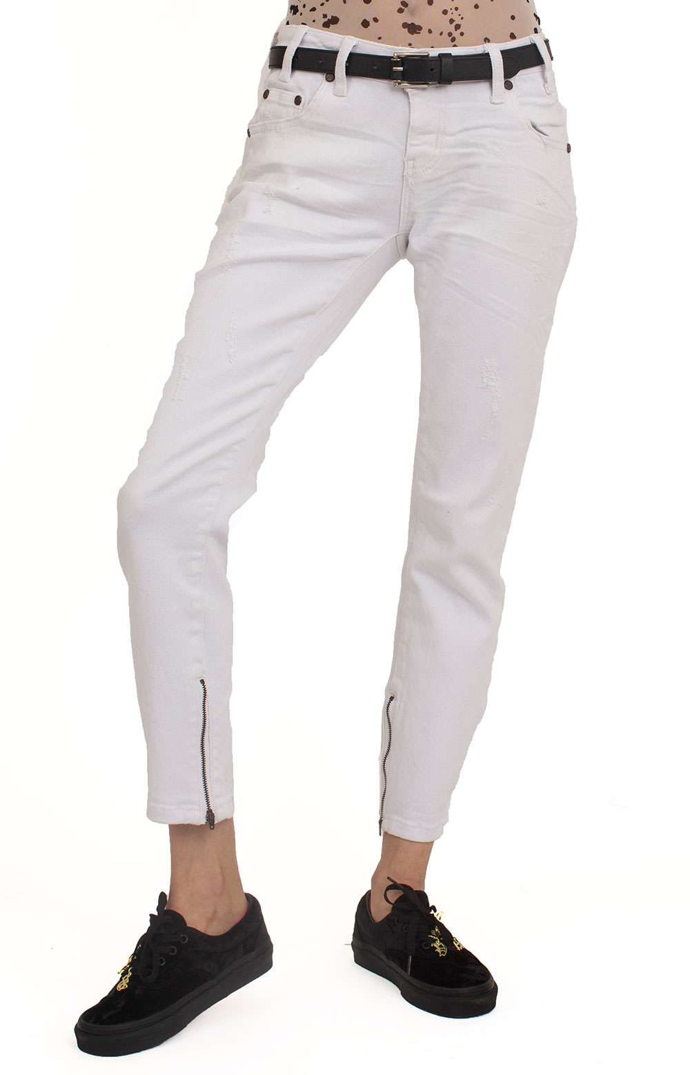 Freebirds II Jeans - Luxe White