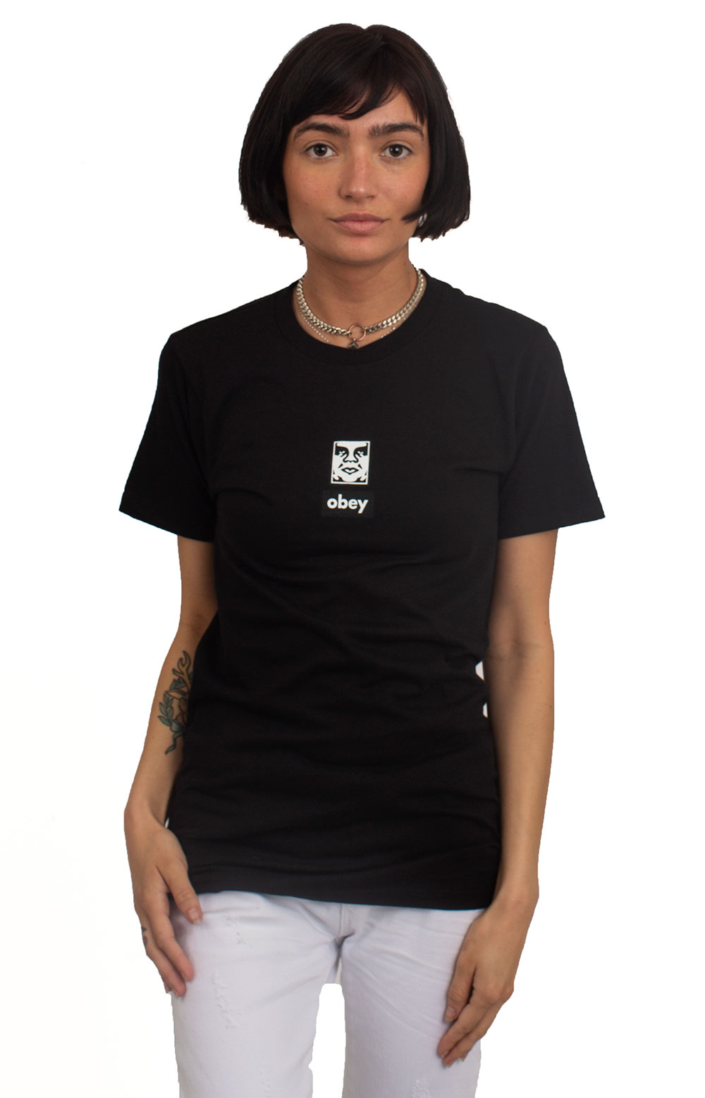 Obey Icon Face 30 Years T-Shirt - Black