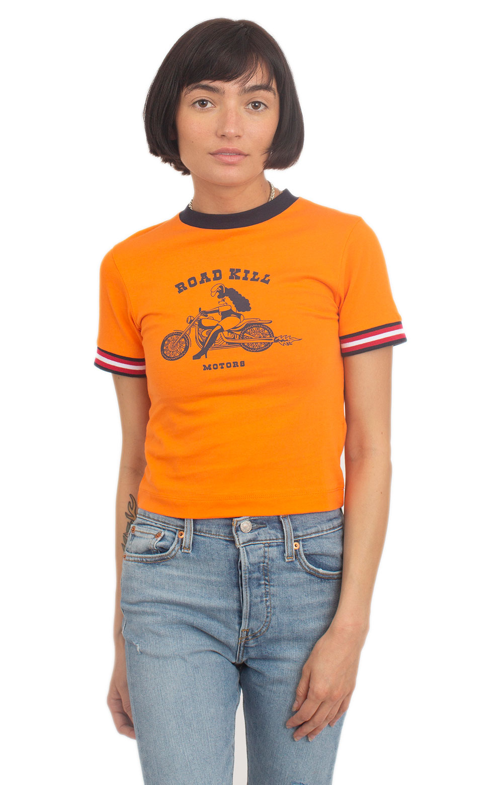 Road Kill Motors Fitted T-Shirt