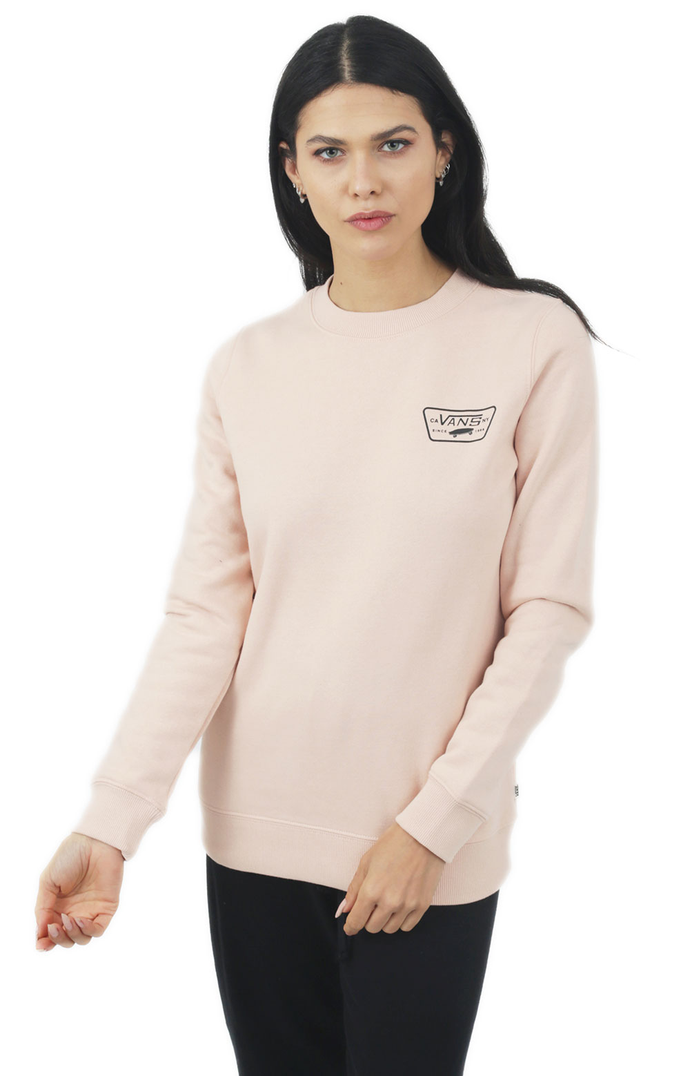 Full Patch Classic Crewneck - Spanish Villa