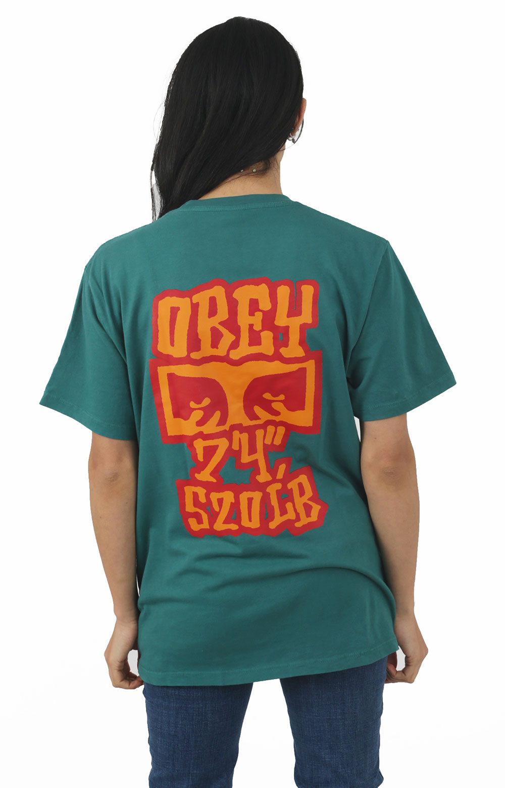 Seven Four T-Shirt - Teal Green