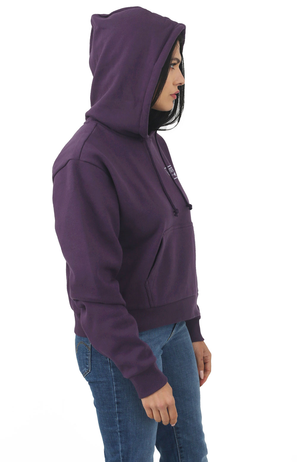 Full Patch Crop Pullover Hoodie - Mysterioso 2