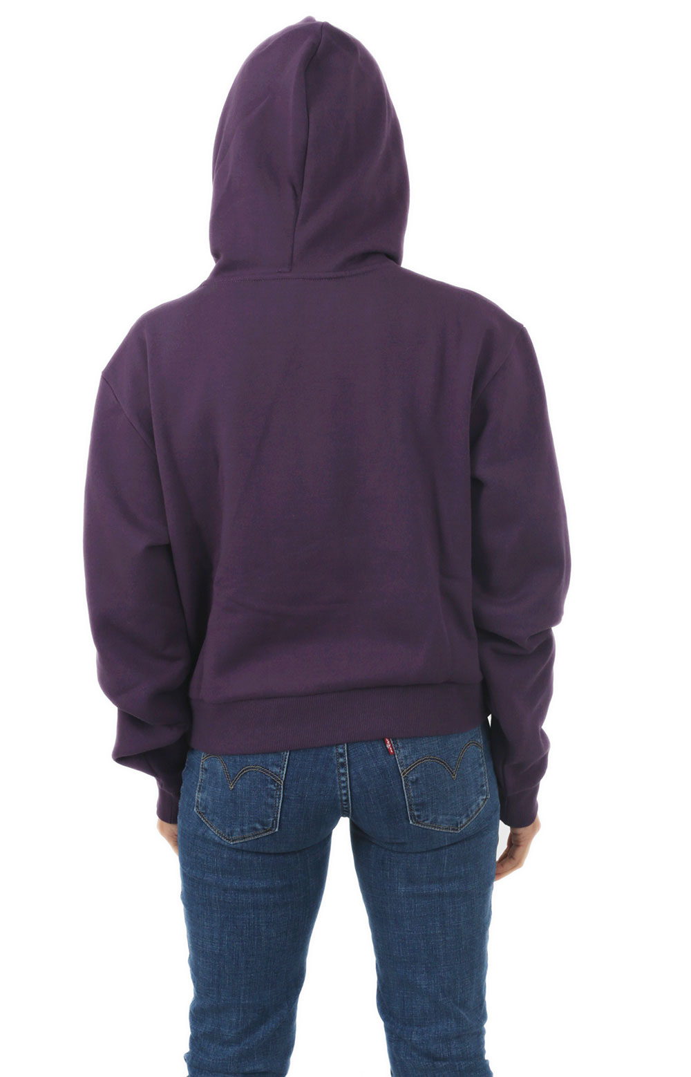 Full Patch Crop Pullover Hoodie - Mysterioso 3