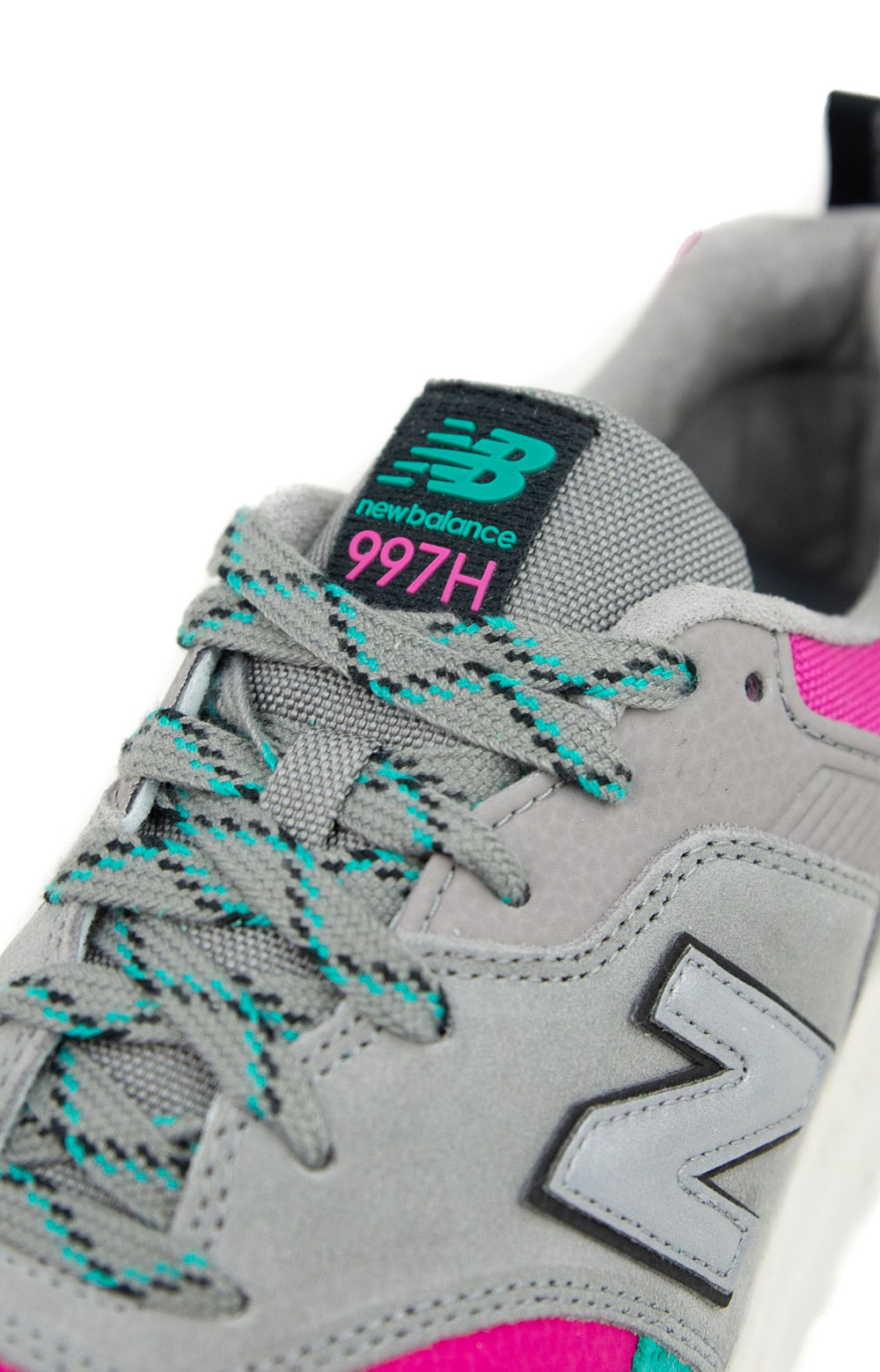 (CM997HYS) 997H Shoes -  Turquoise/Grey 3