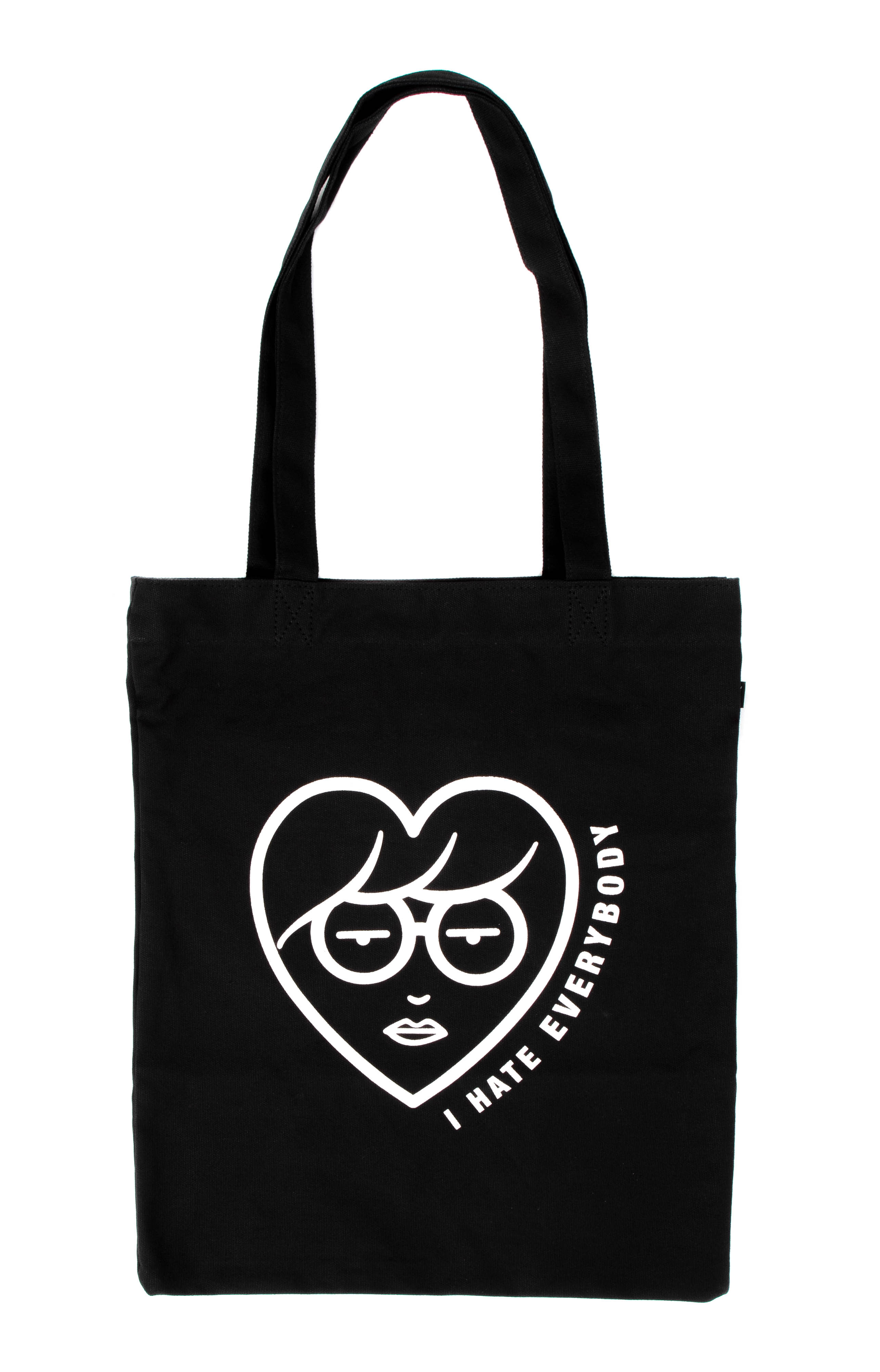 I Hate Everybody Tote Bag