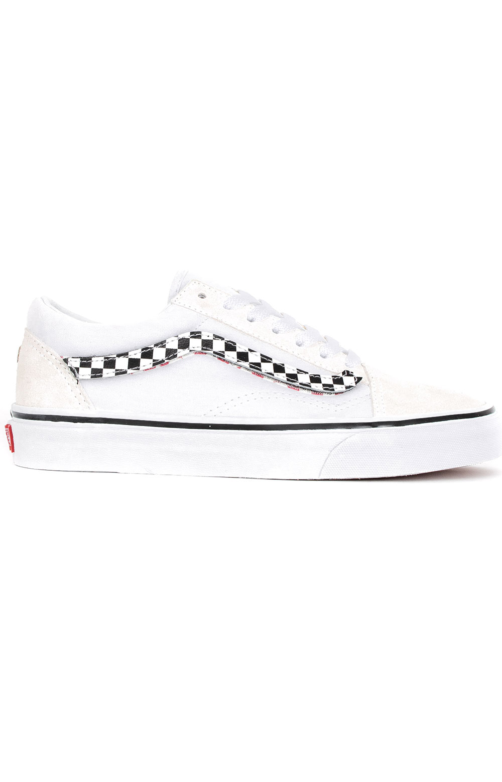 (8G1UPC) Sidestripe V Old Skool Shoe - True White