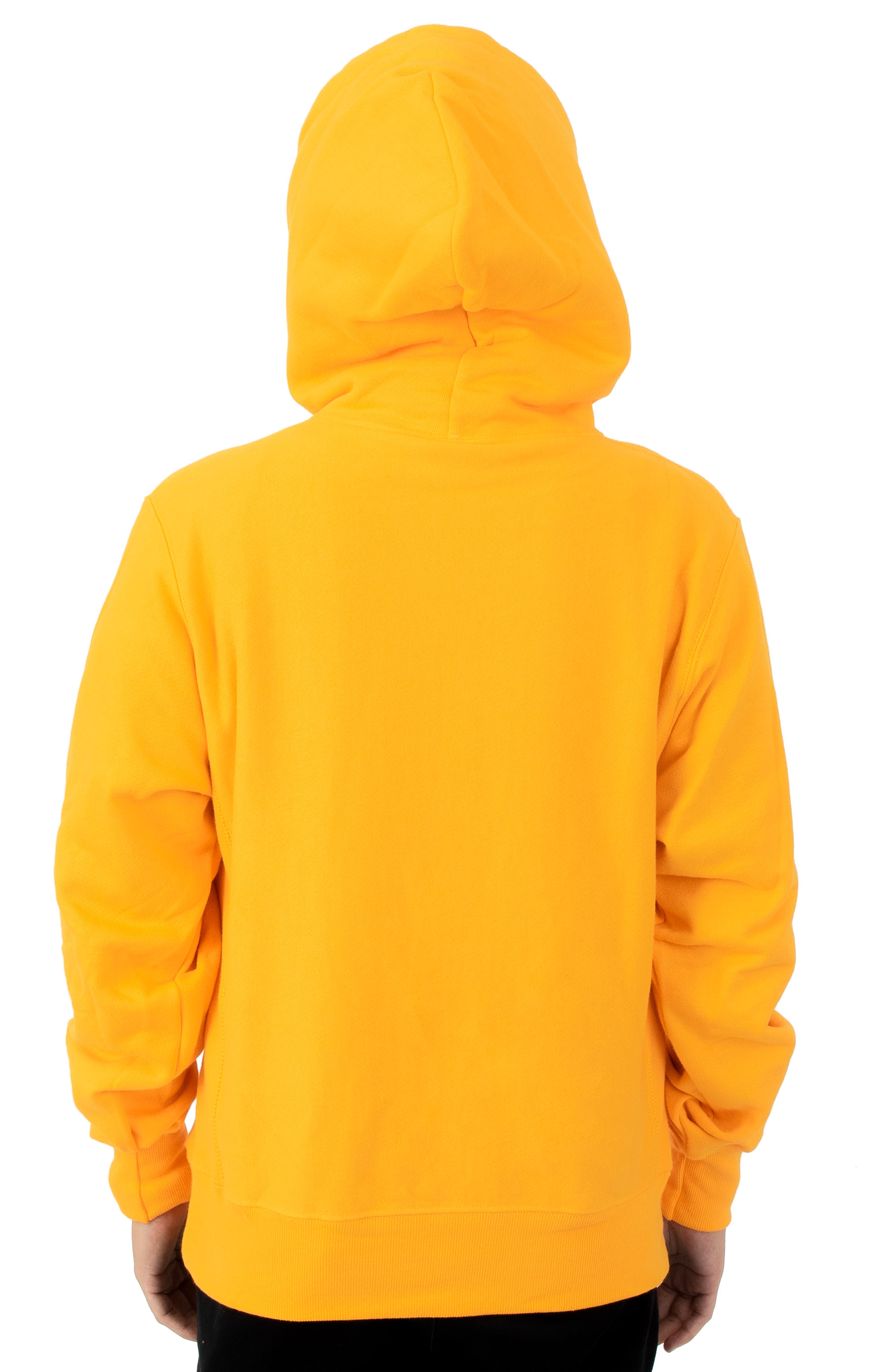 Reverse Weave Sublimated C Logo Pullover Hoodie - C Gold 2