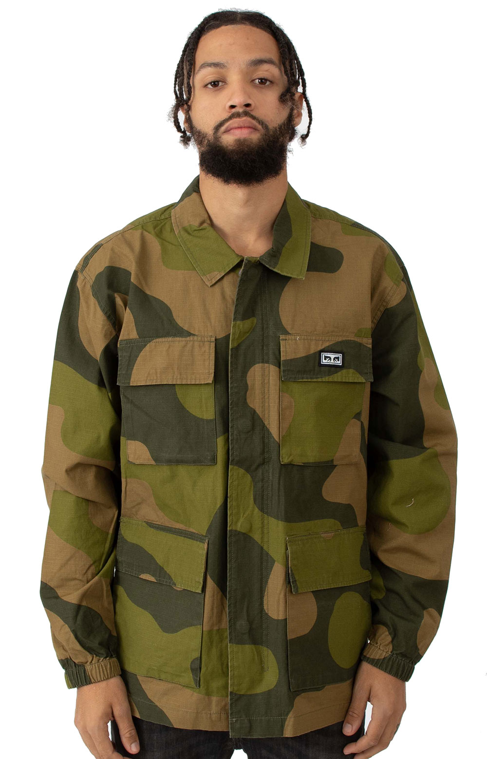 Rise Up BDU Jacket - Oversize Camo