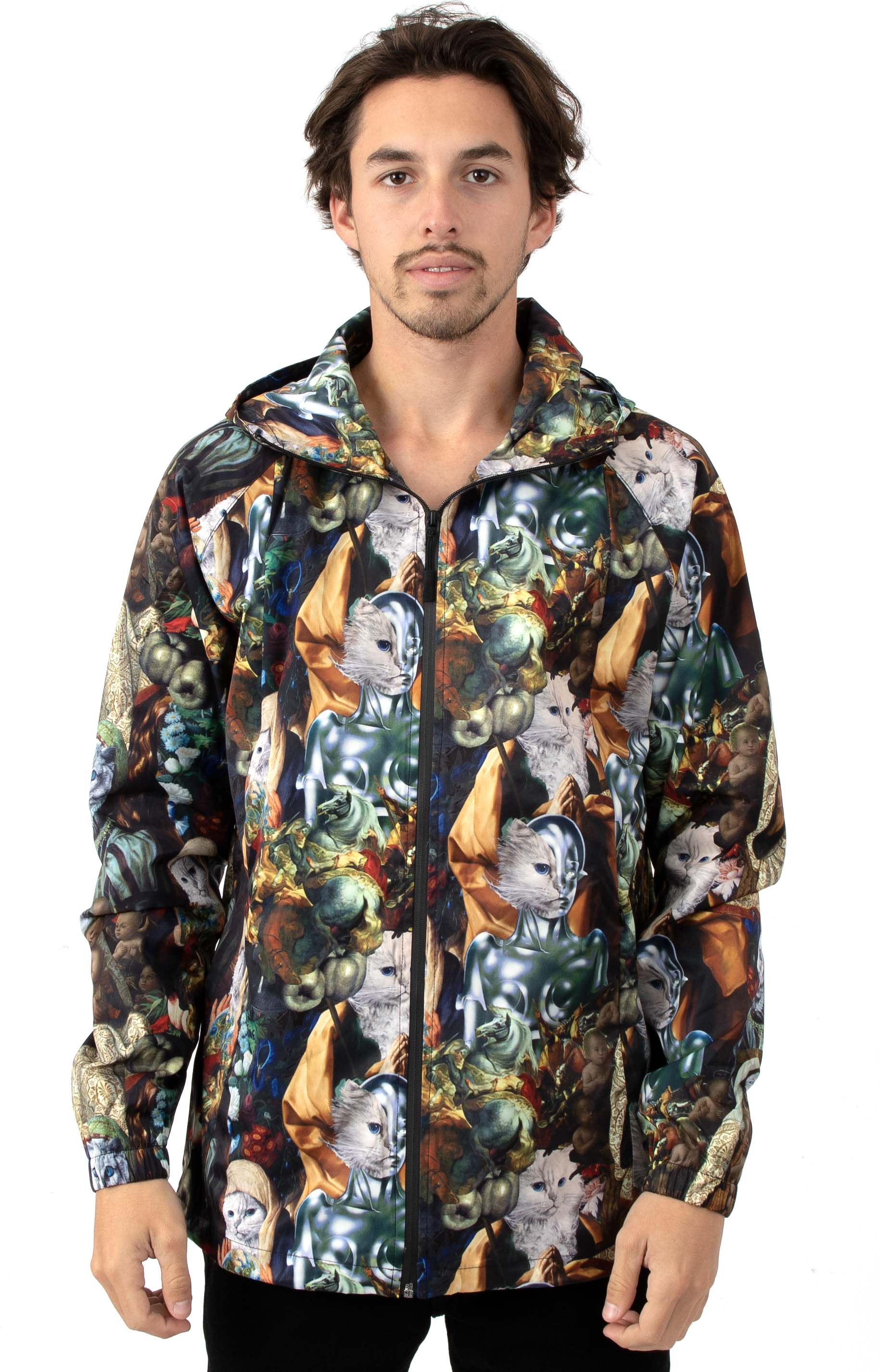 Nermaissance Hooded Anorak Jacket - Multi