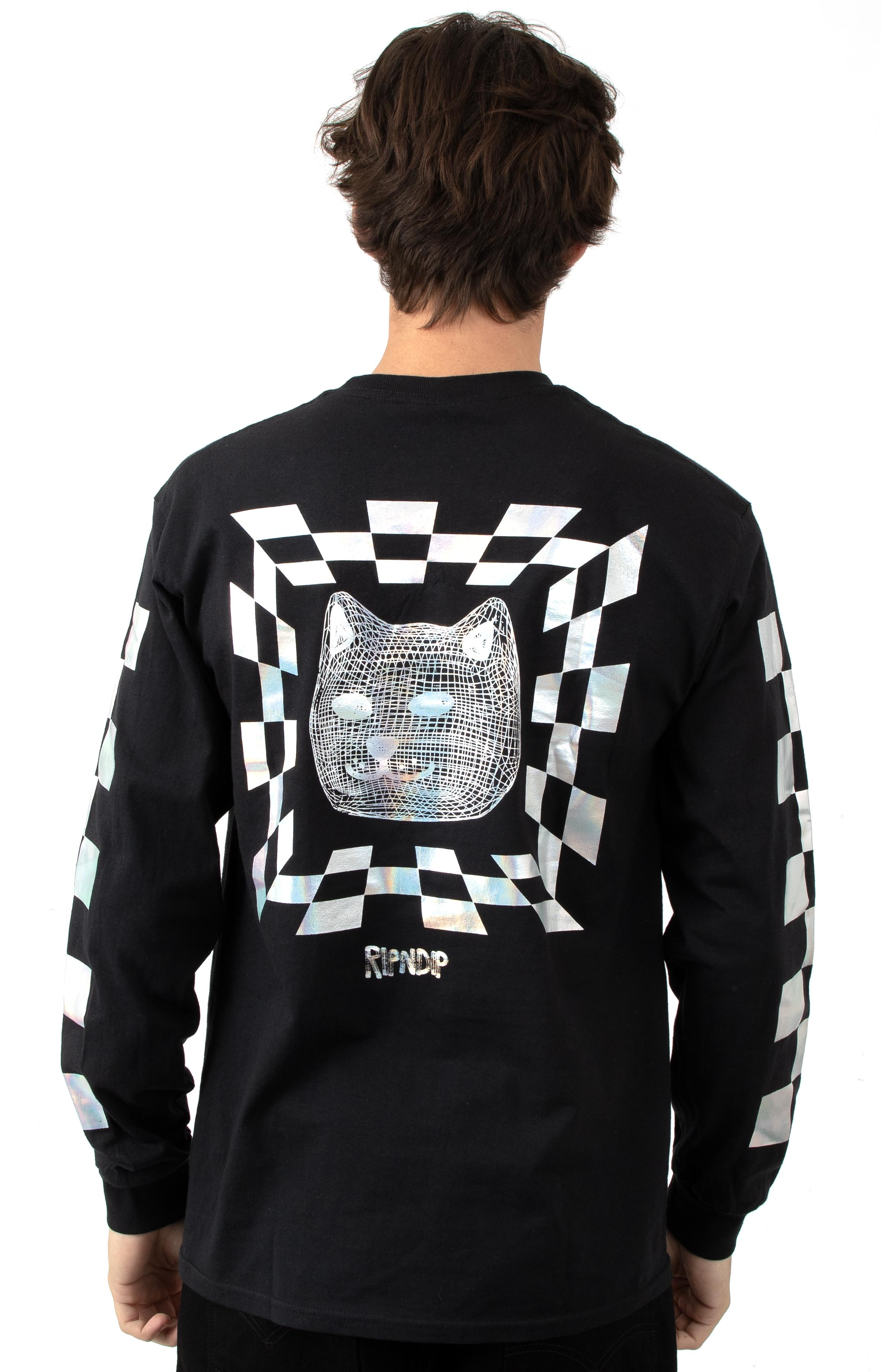 RIPNDIP, Illusion L/S Shirt - Black