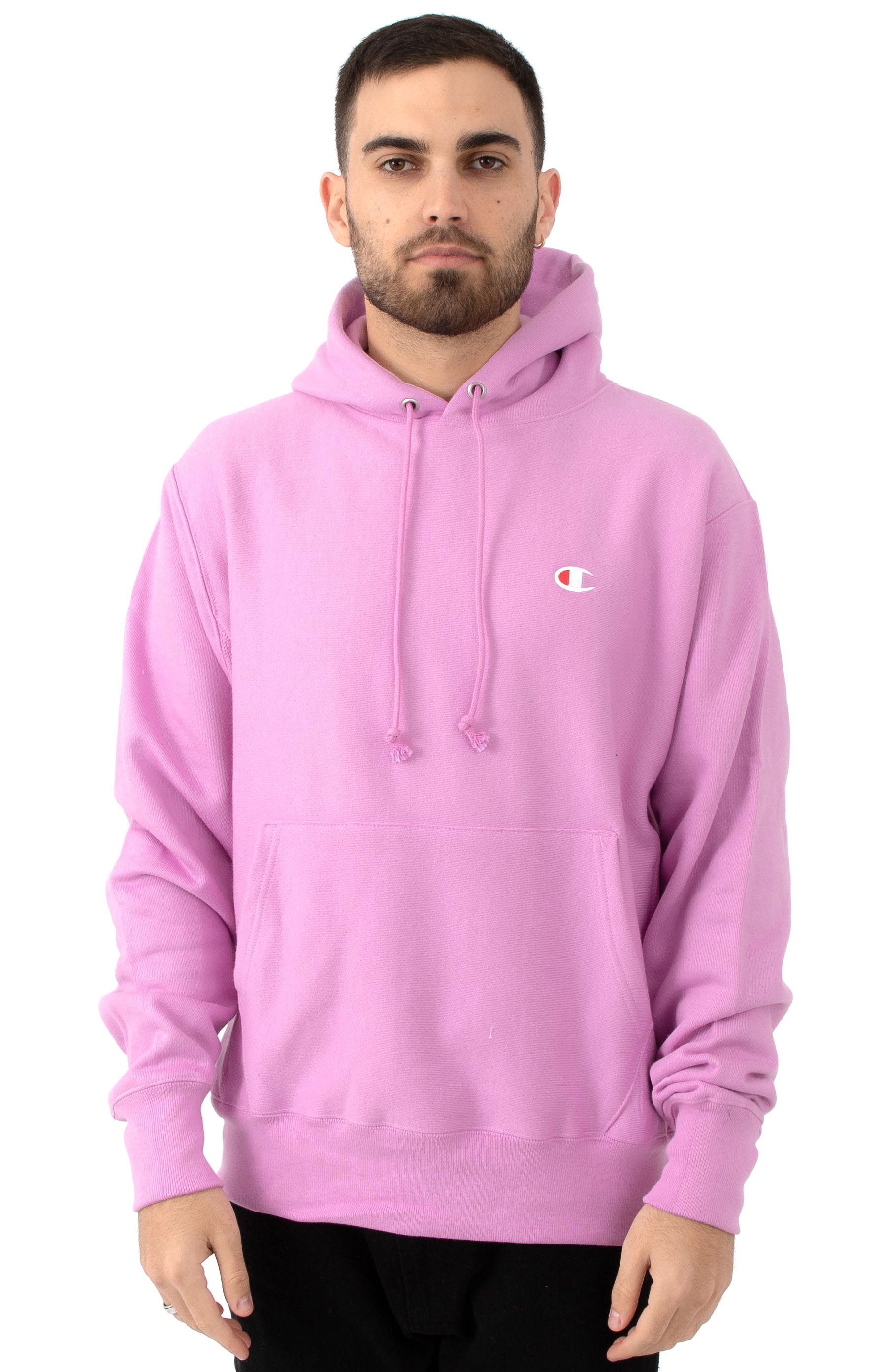 0ed290c44 Champion, Reverse Weave Pullover Hoodie - Paper Orchid | MLTD
