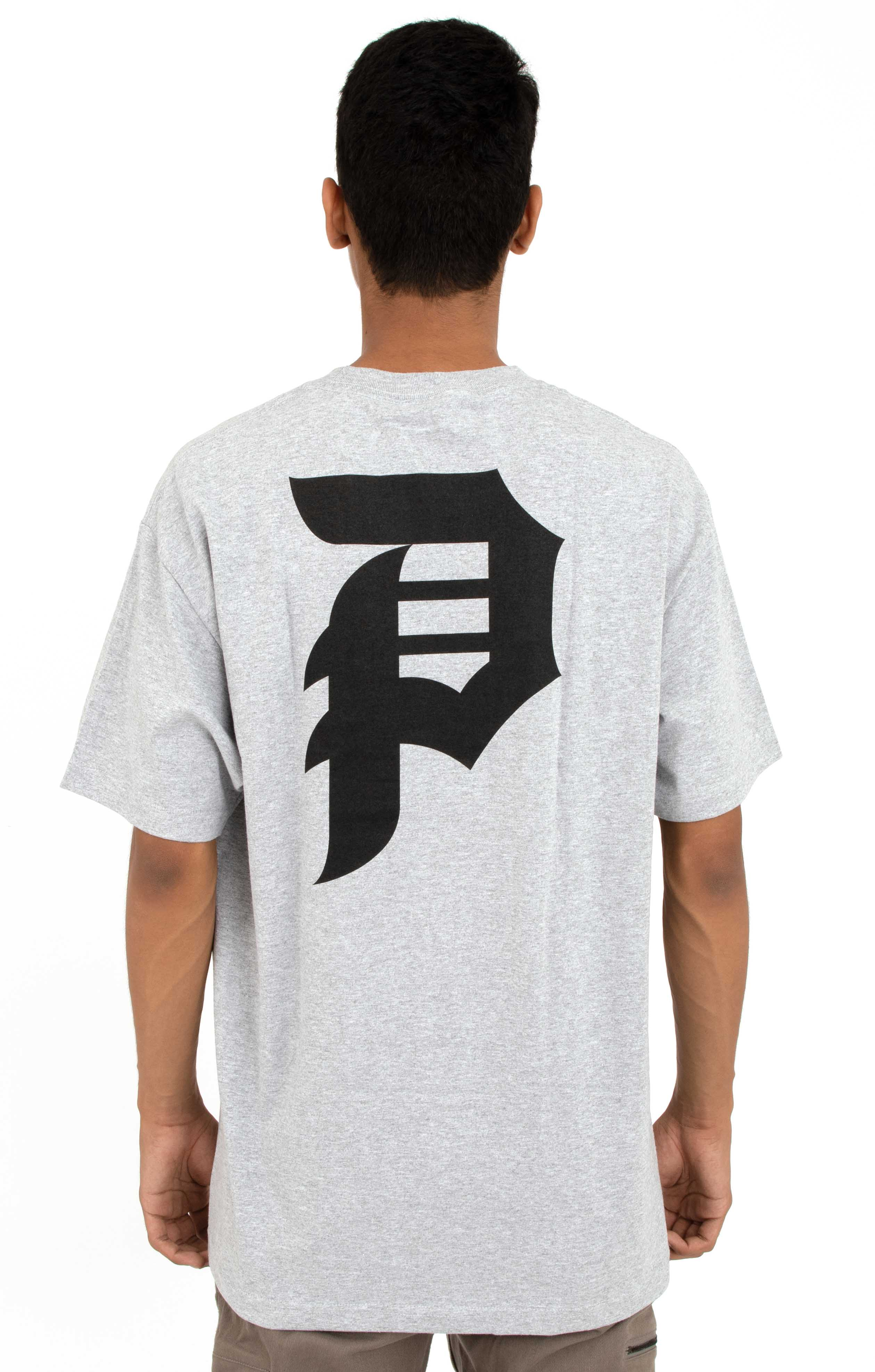 Dirty P Core T-Shirt - Grey/Black