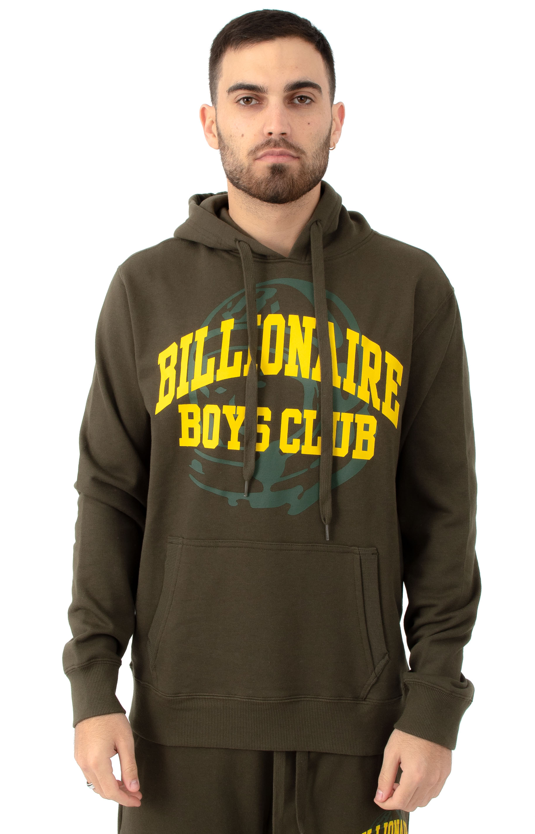 BB Collegiate Pullover Hoodie - Forest Night
