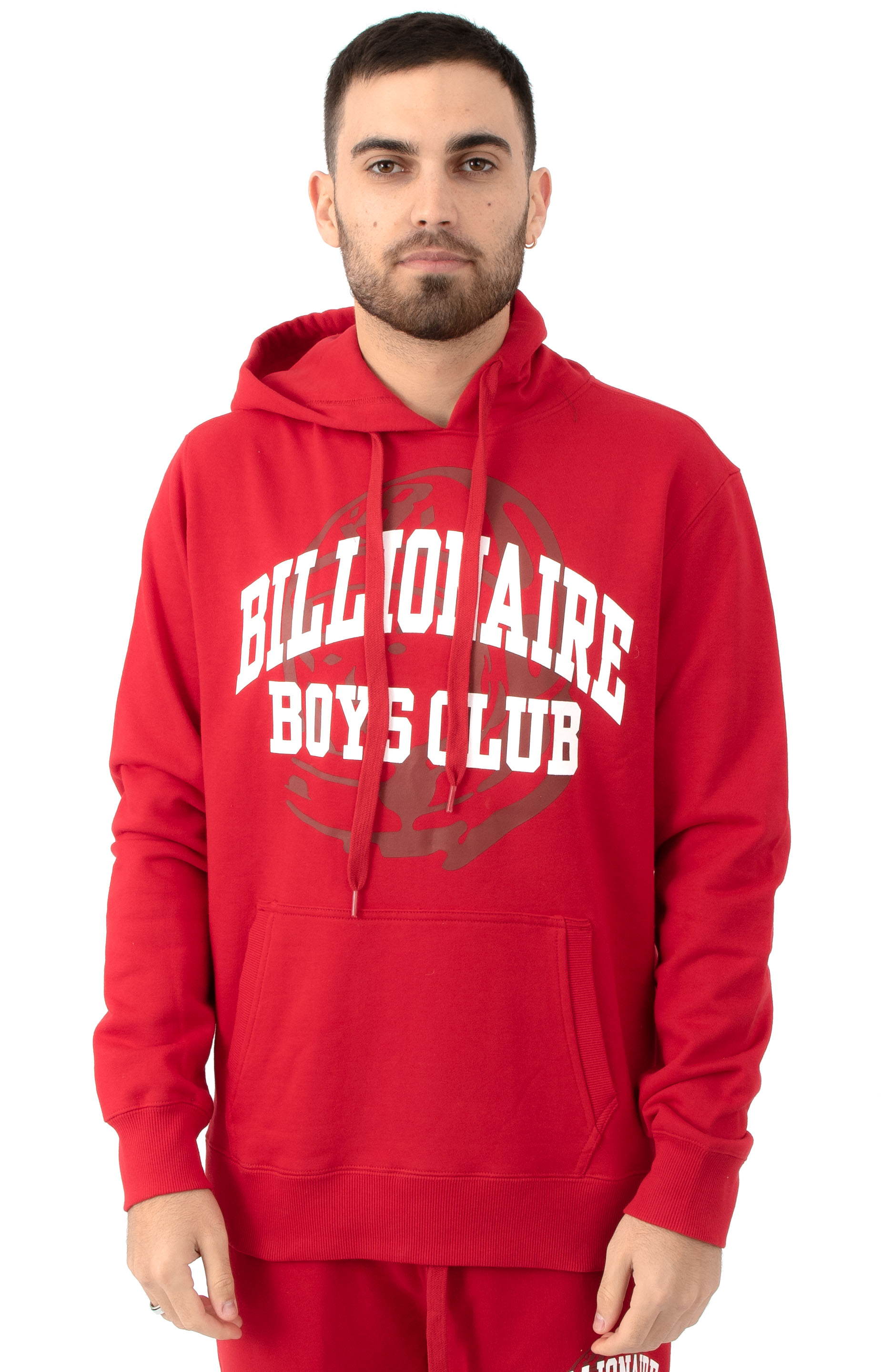 BB Collegiate Pullover Hoodie - Tango Red