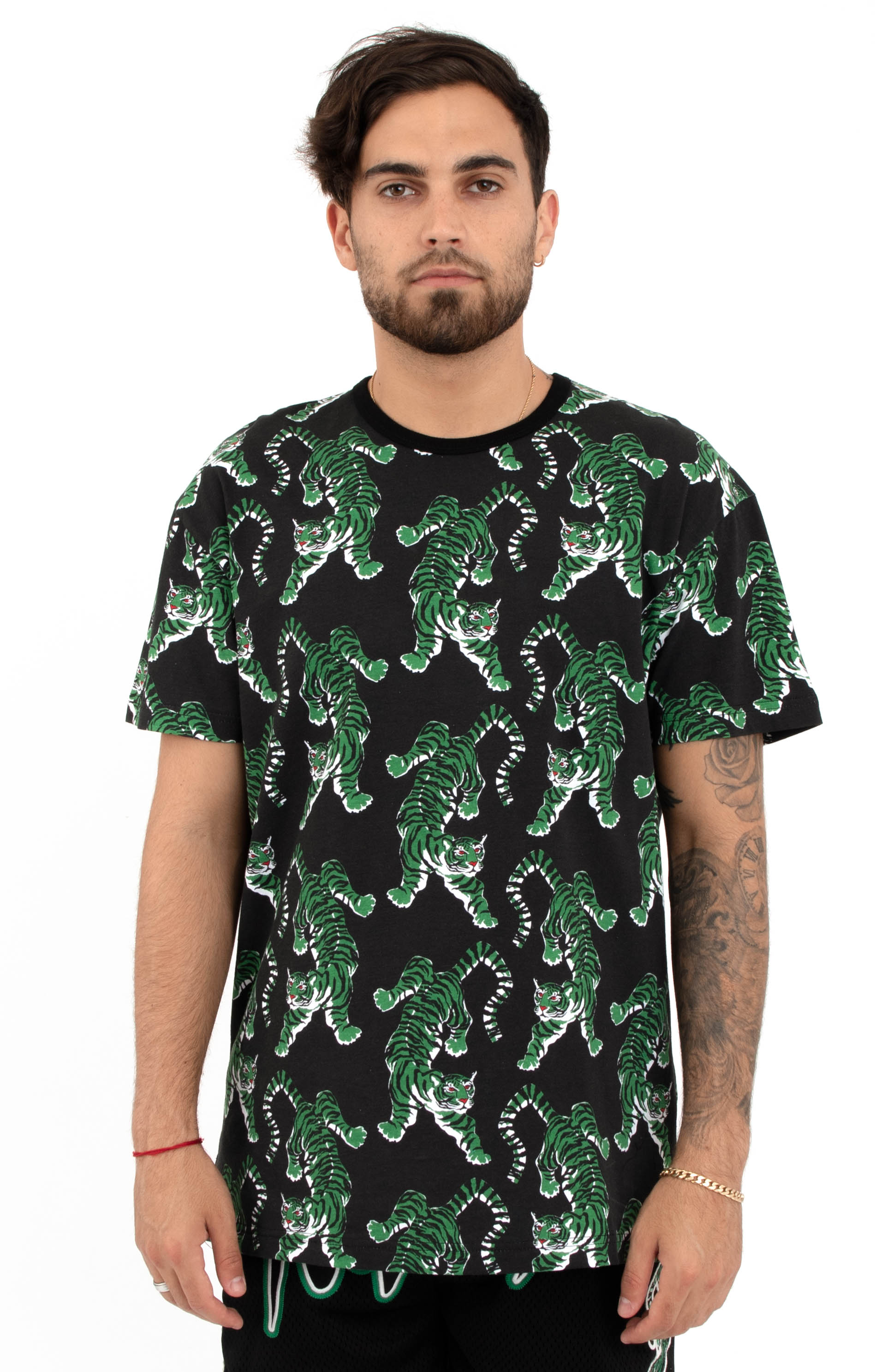 10 Deep, Top Of The Chain Print T-Shirt - Black