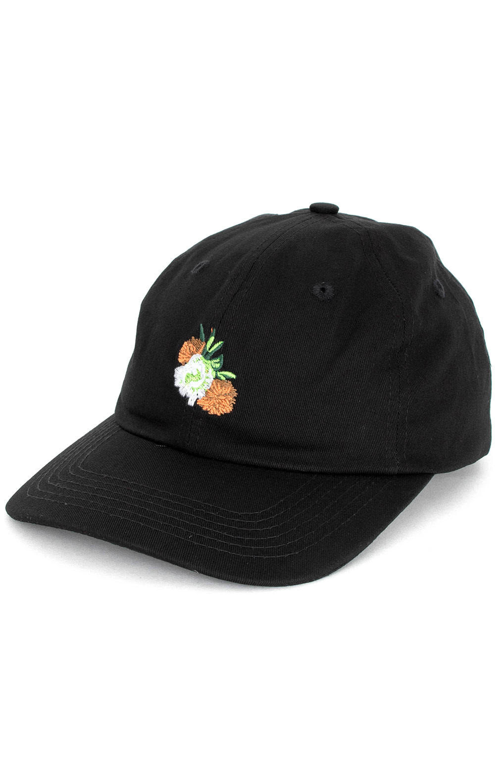 Yoga Flame Dad Hat - Black