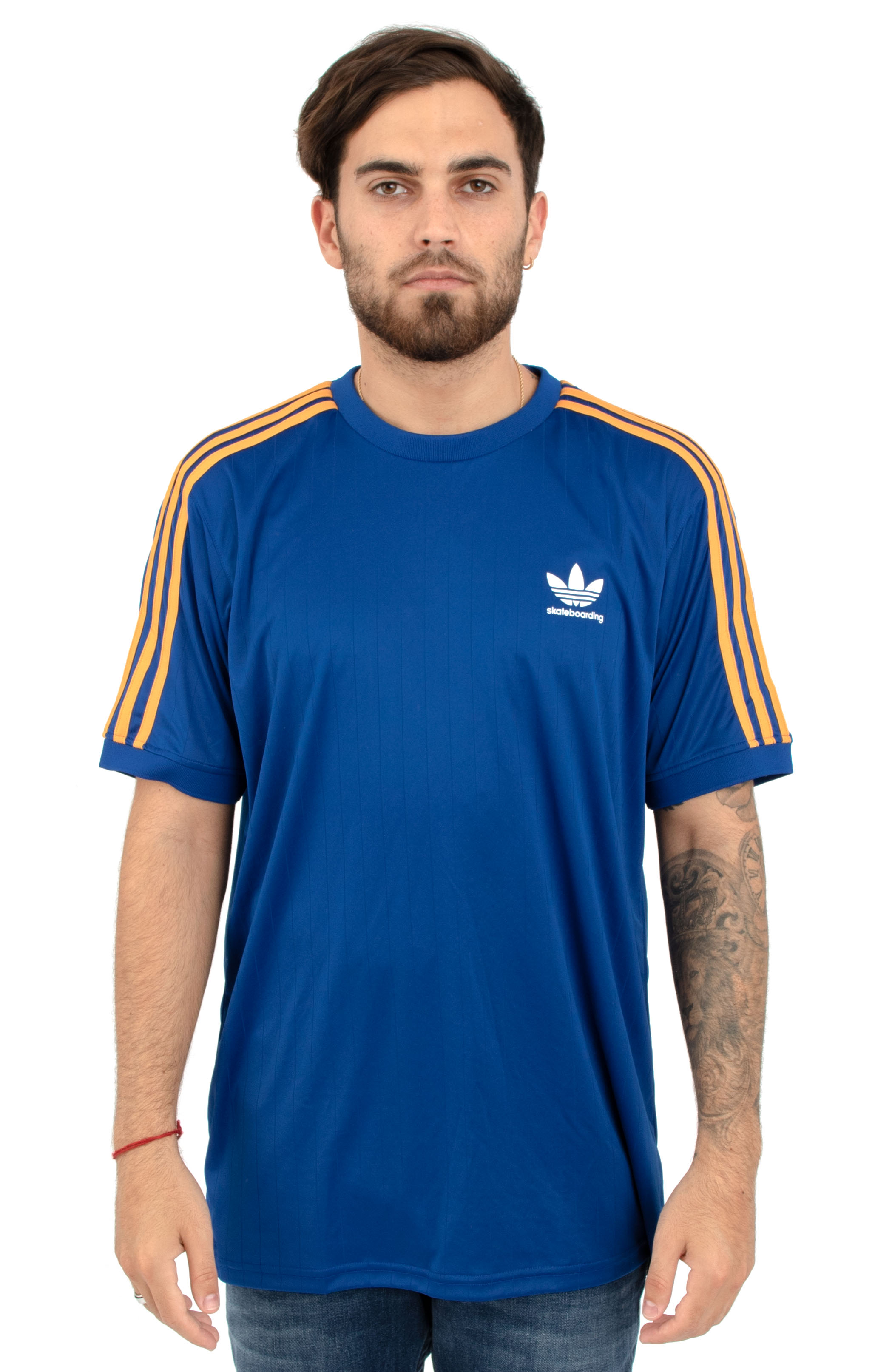 Adidas, Clima Club Jersey - Collegiate Royal/Tactile Yellow