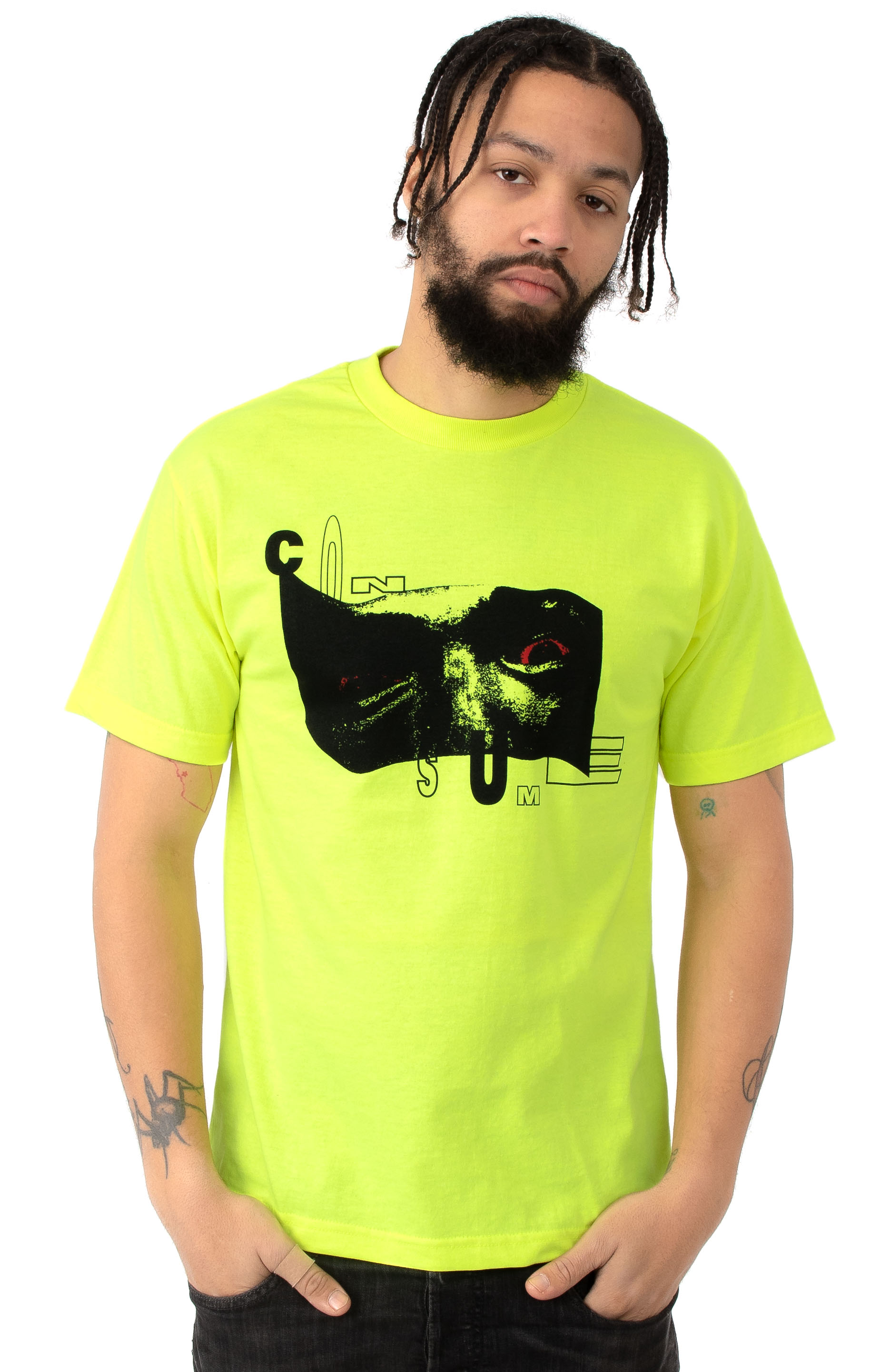 10 Deep, Bela's Alive T-Shirt - Neon Yellow