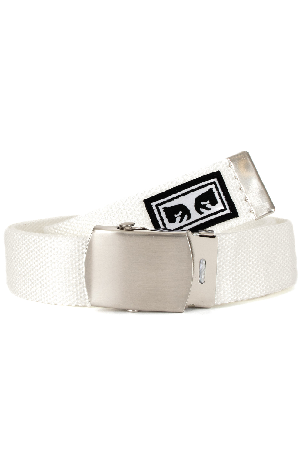 Big Boy Web Belt - White
