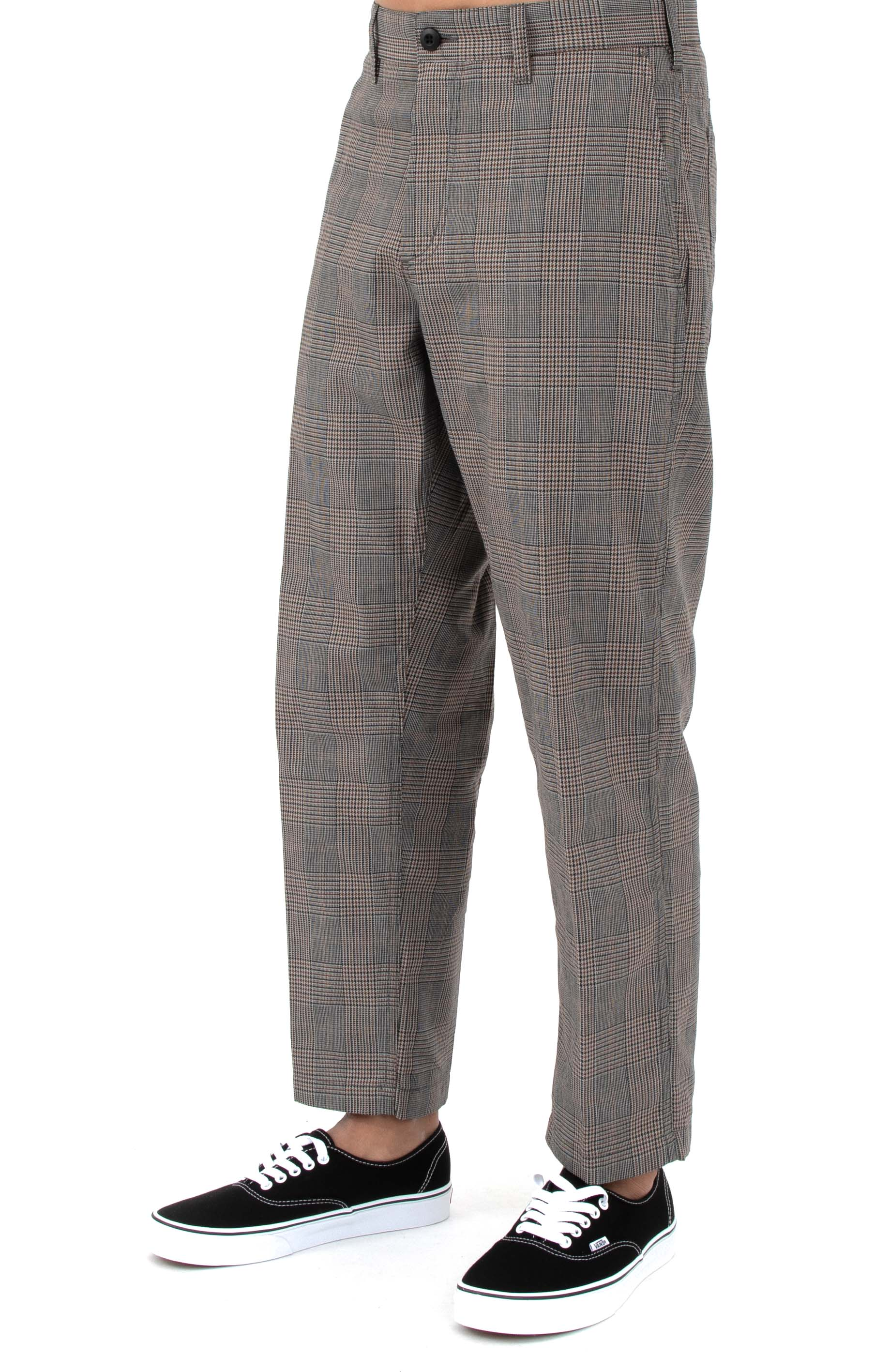 Straggler Plaid Carpenter Pants - Black Multi