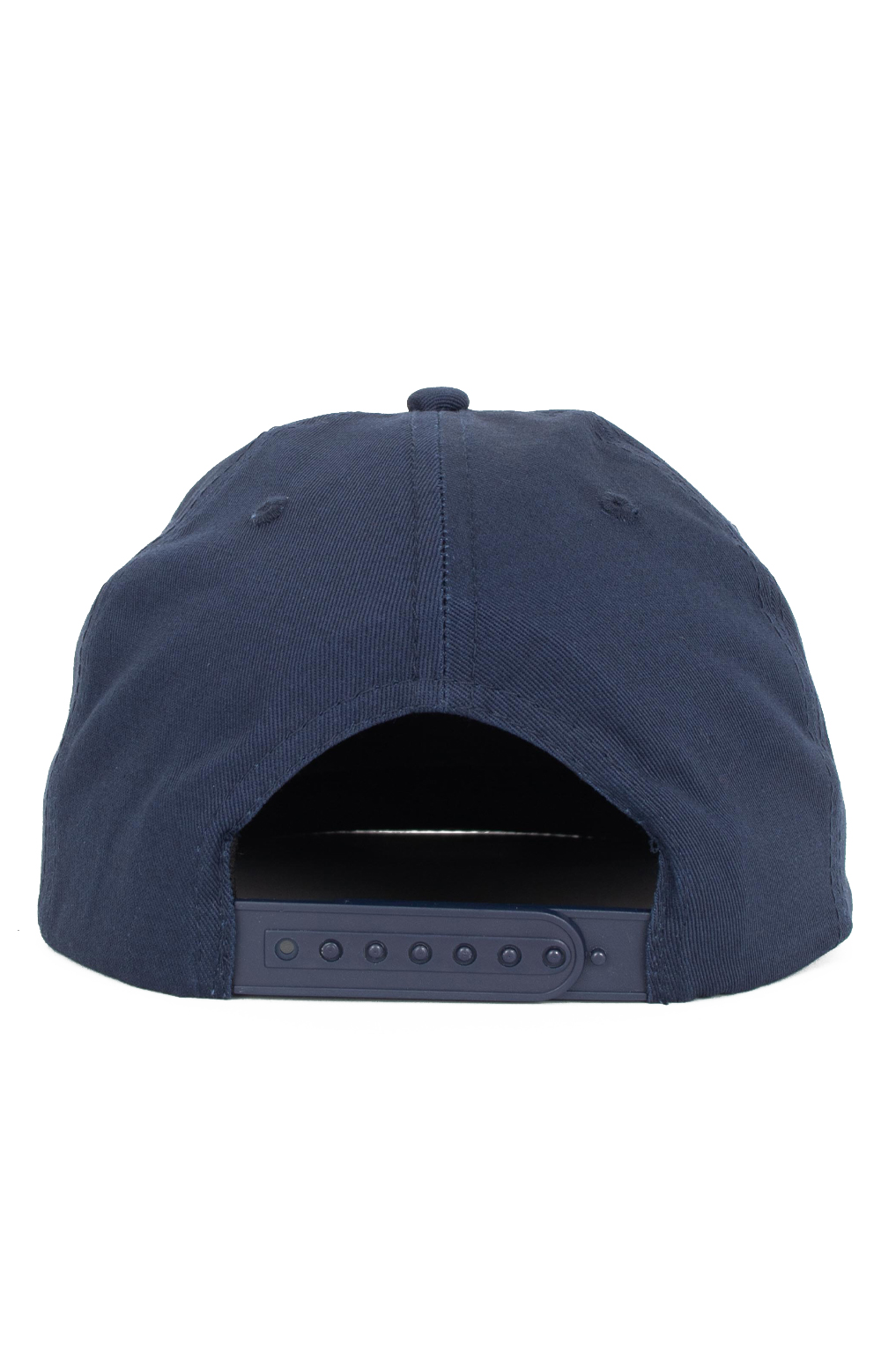 Flame Rope Snap-Back Hat - Navy Blue 3