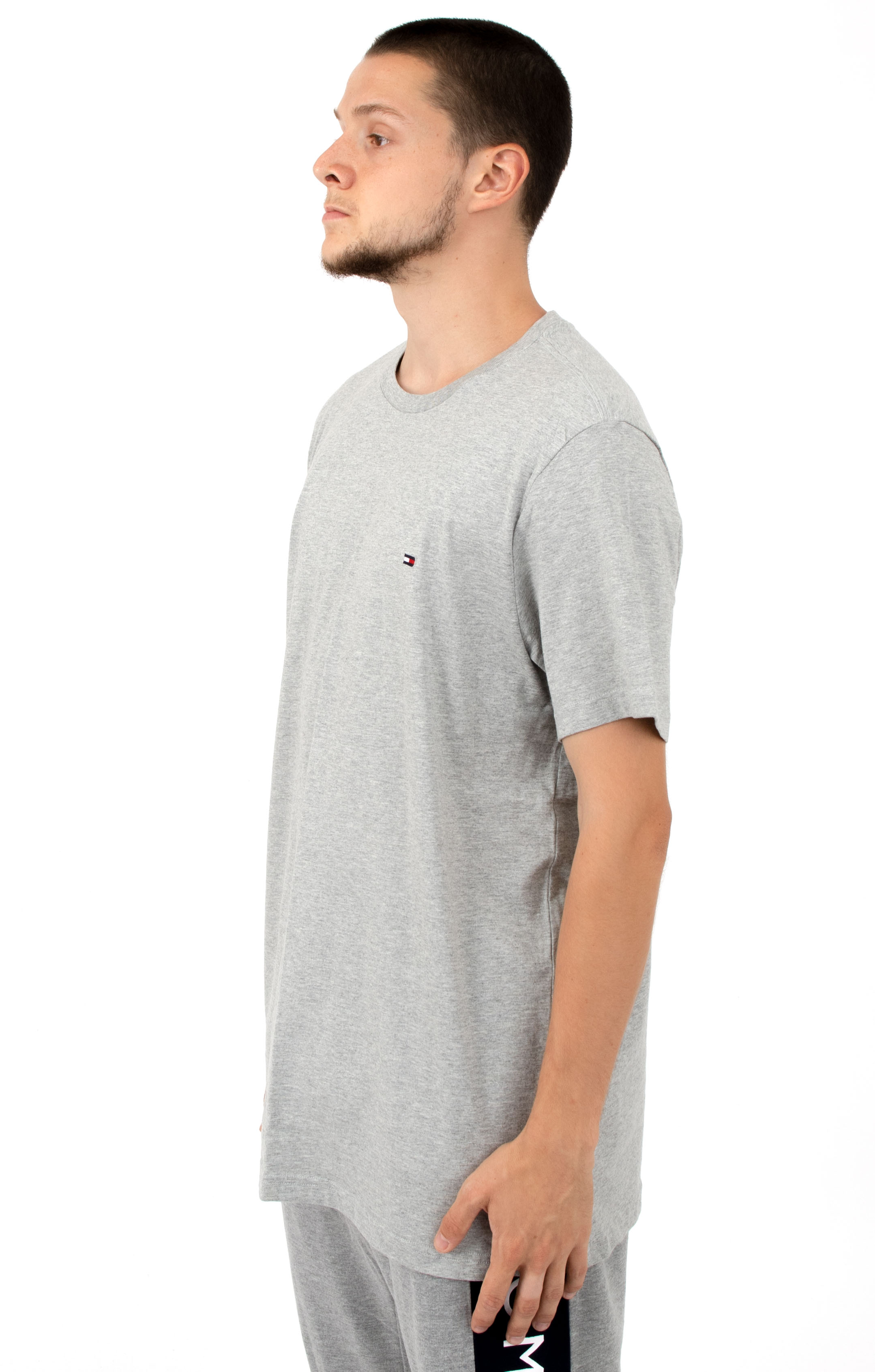 Core Flag Crew T-Shirt - Heather Grey 2