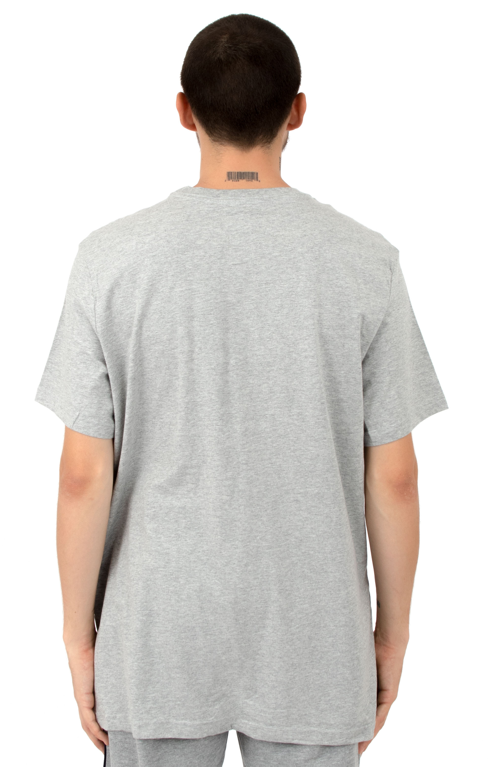 Core Flag Crew T-Shirt - Heather Grey 3
