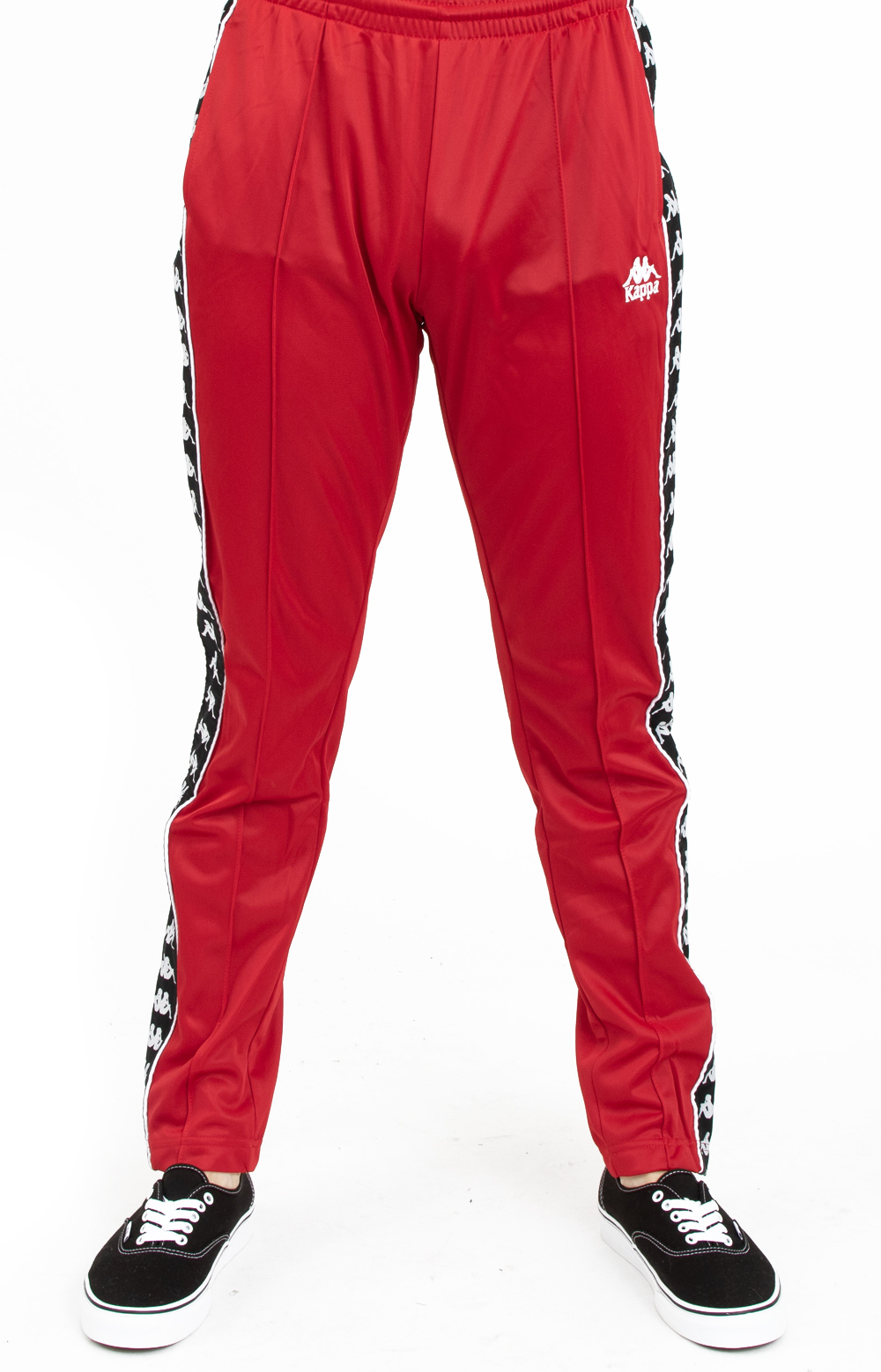 0d4f88c74ce Authentic Fairfax Slim Track Pants - Red Dk/Black/White. Thumbnail 1  Thumbnail 1 Thumbnail 1