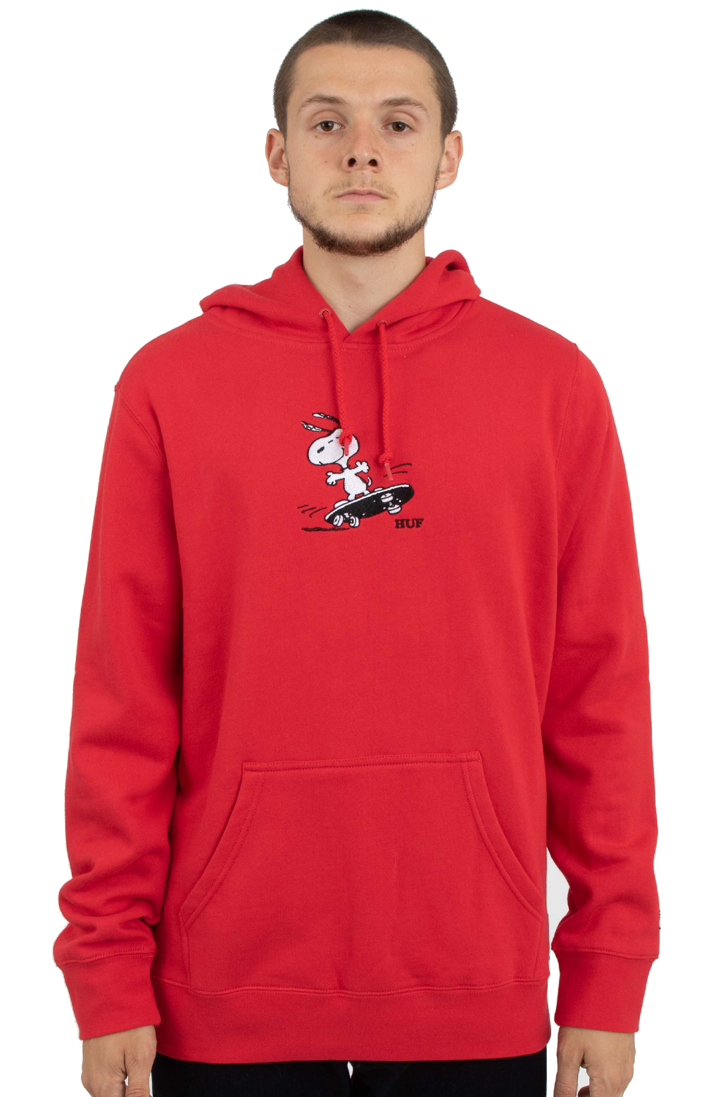 115e935774 Snoopy Skates Pullover Hoodie - Red